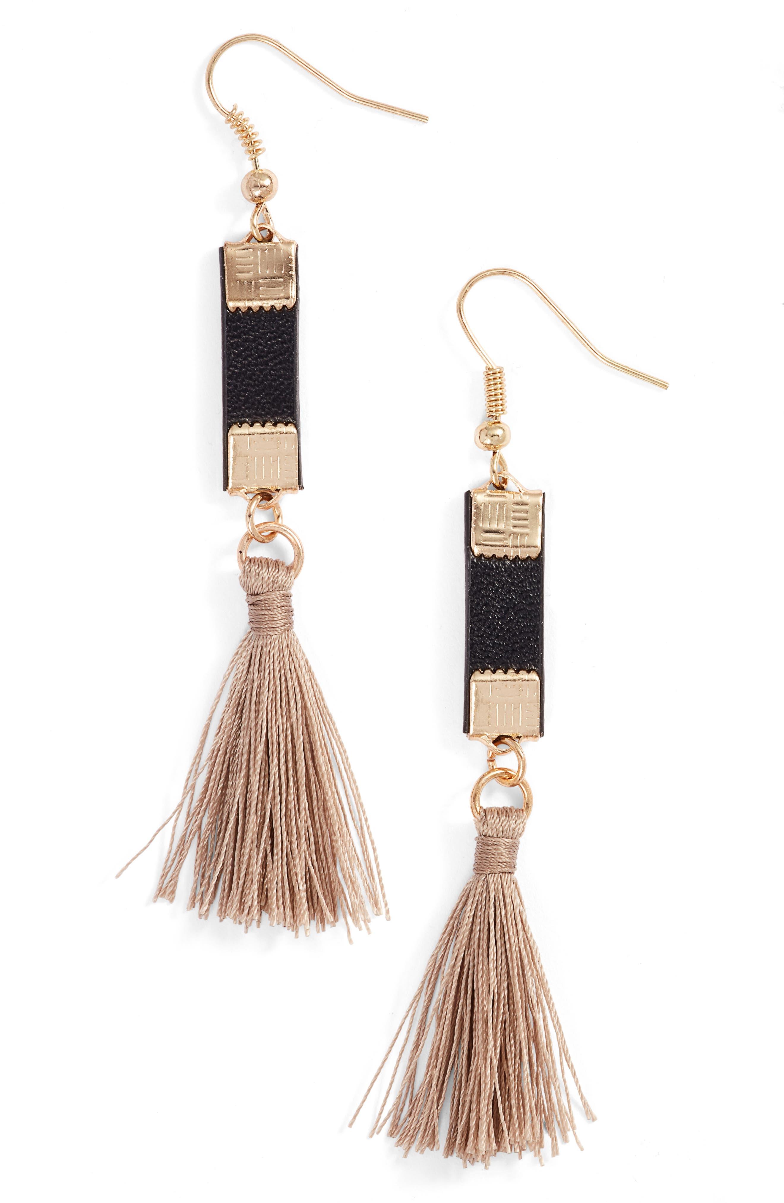 Elise M. Sancho Tassel Drop Earrings