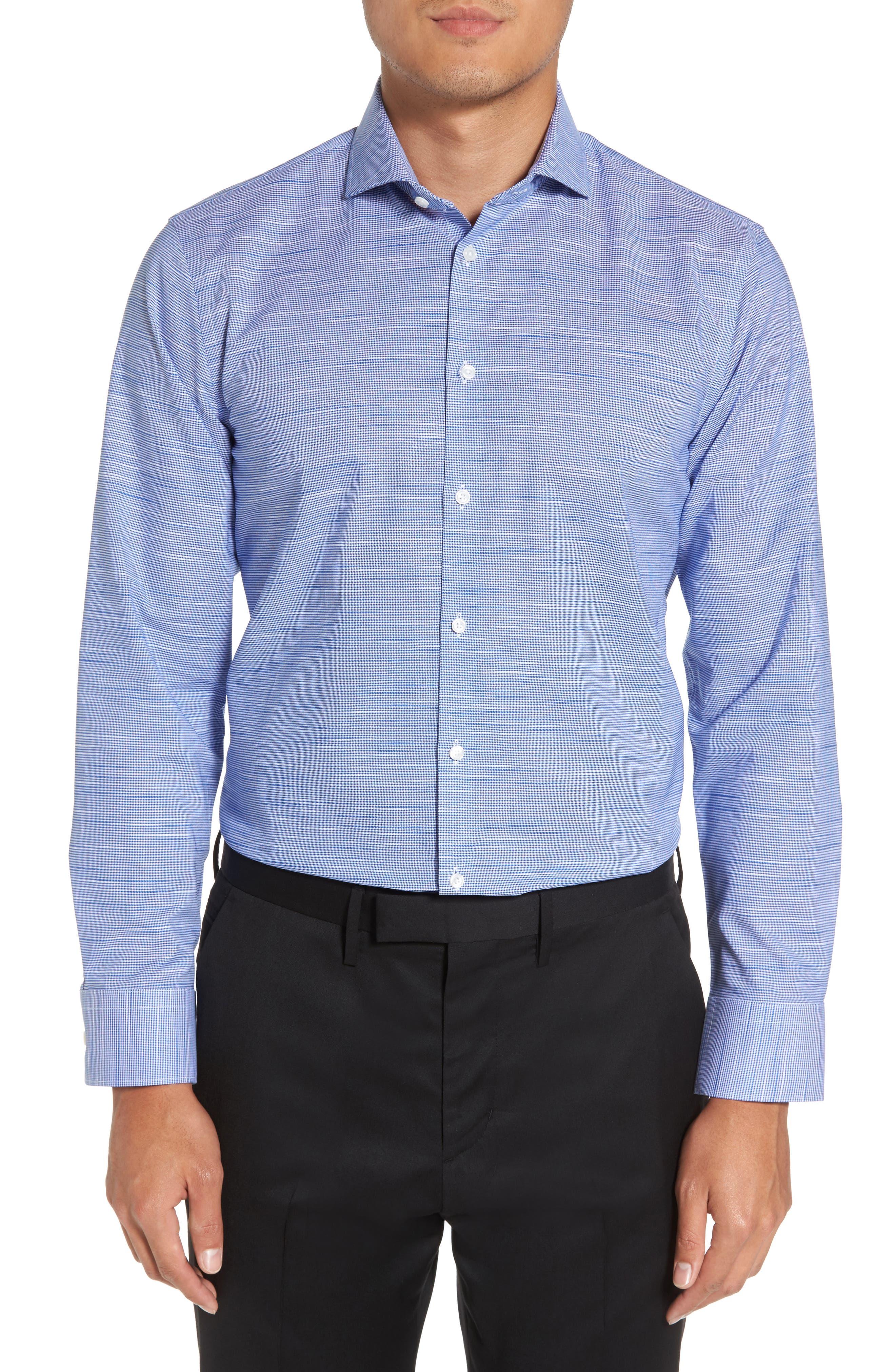 Main Image - Calibrate Extra Trim Fit Non-Iron Dress Shirt