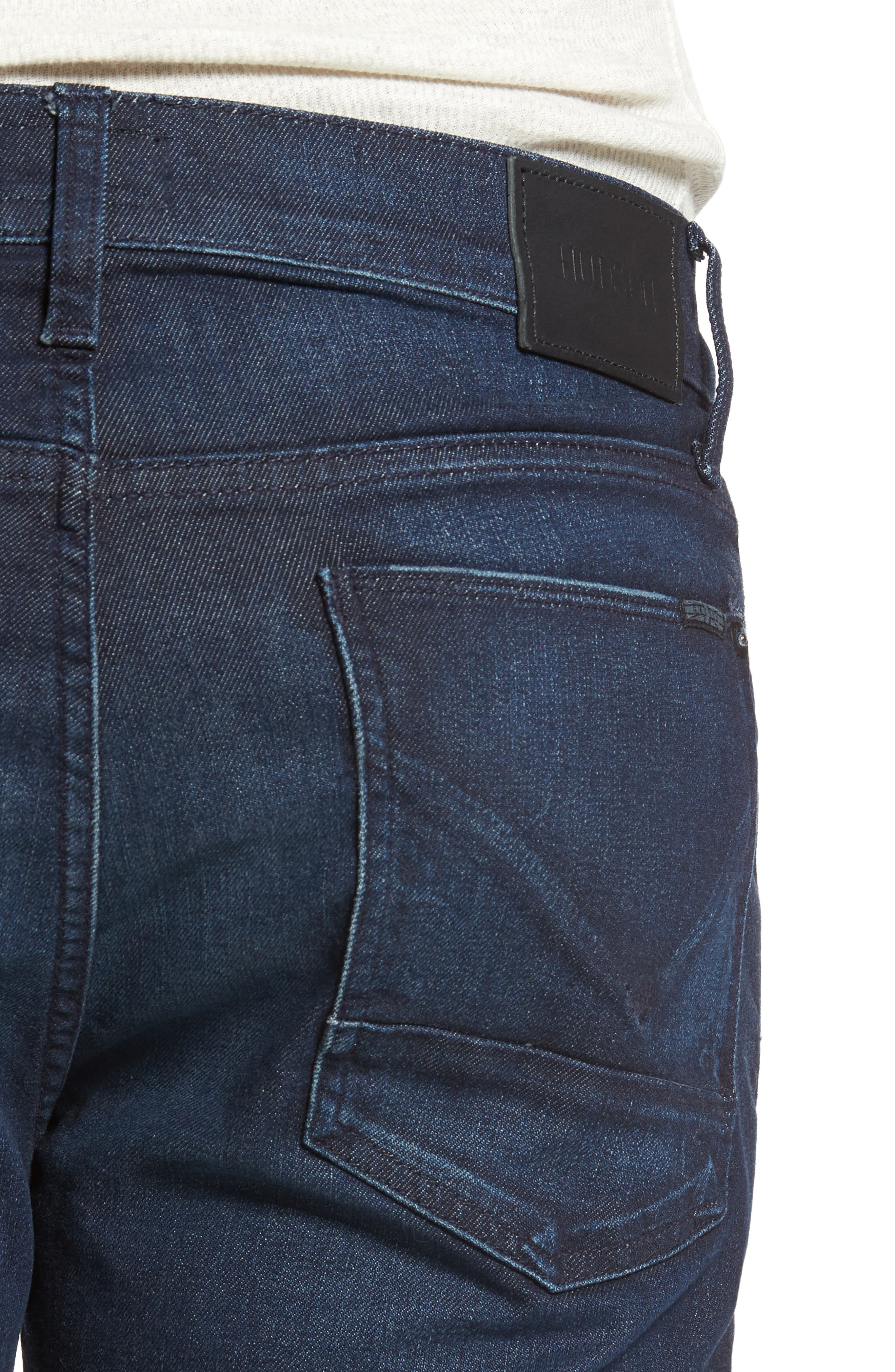 Alternate Image 4  - Hudson Jeans Byron Slim Straight Leg Jeans (Viral)