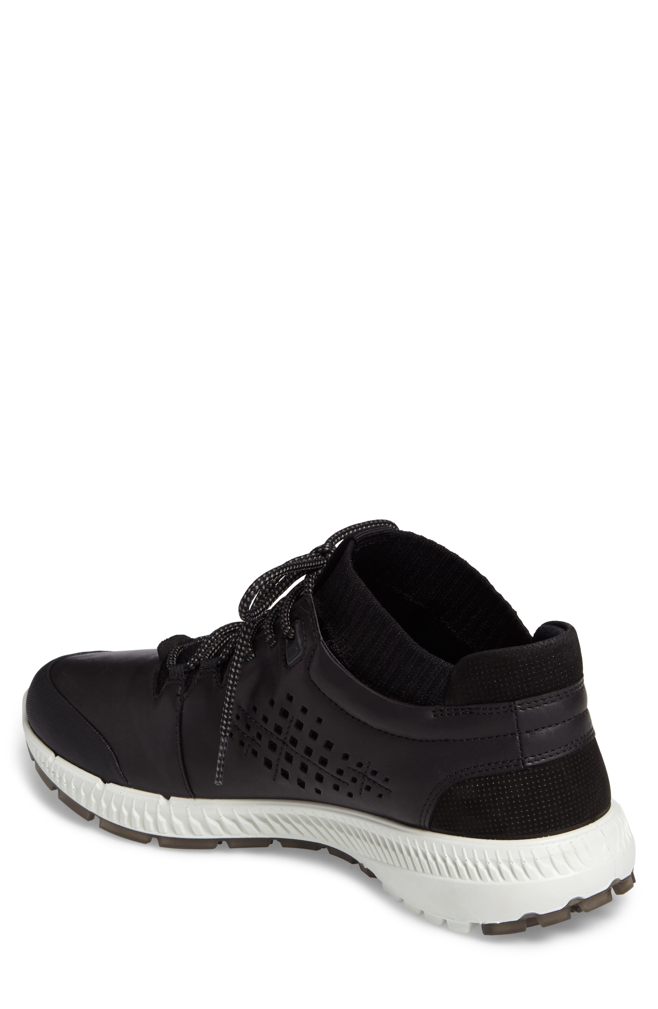 Intrinsic Mid Sneaker,                             Alternate thumbnail 2, color,                             Black Leather