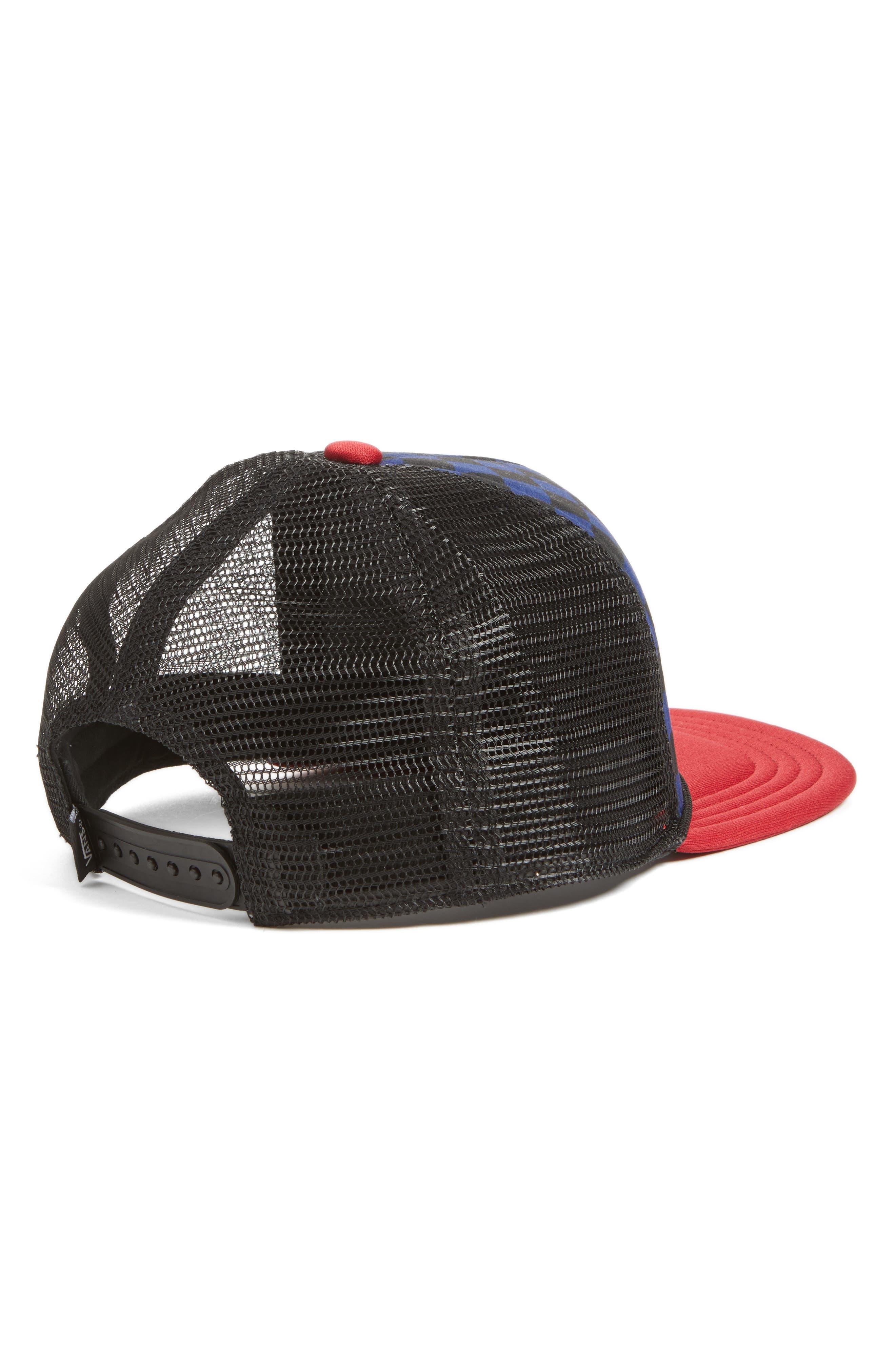 Classic Patch Trucker Hat,                             Alternate thumbnail 2, color,                             Blue Depths