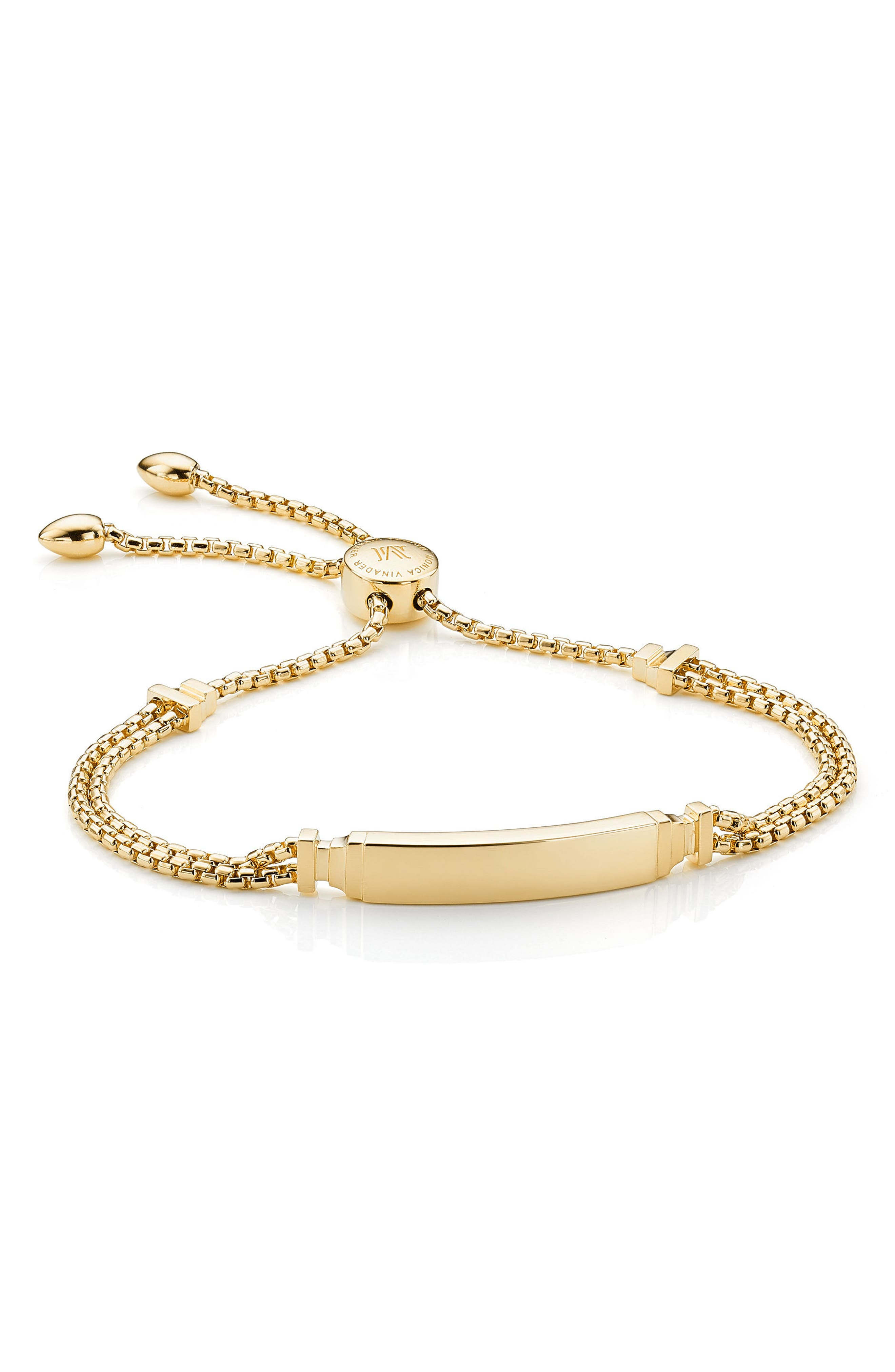 Main Image - Monica Vinader Baja Deco ID Bracelet