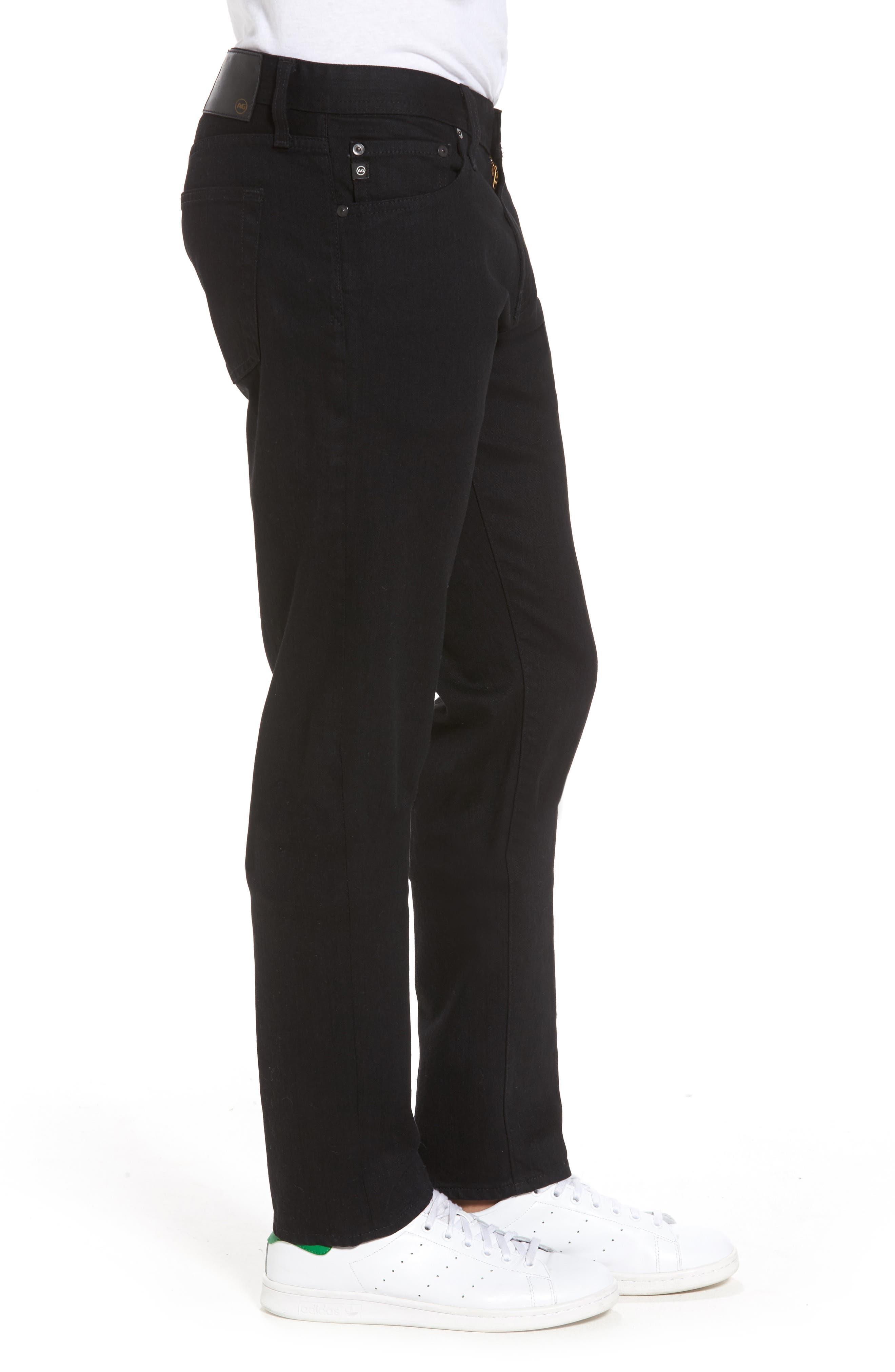 Tellis Slim Fit Jeans,                             Alternate thumbnail 3, color,                             Deep Pitch