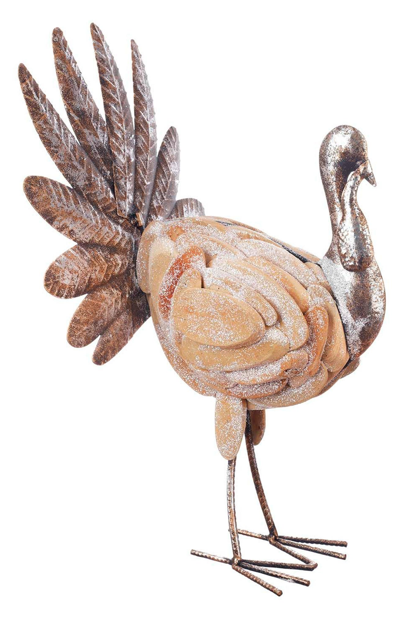 Main Image - Winward Hand Painted Thanksgiving Turkey