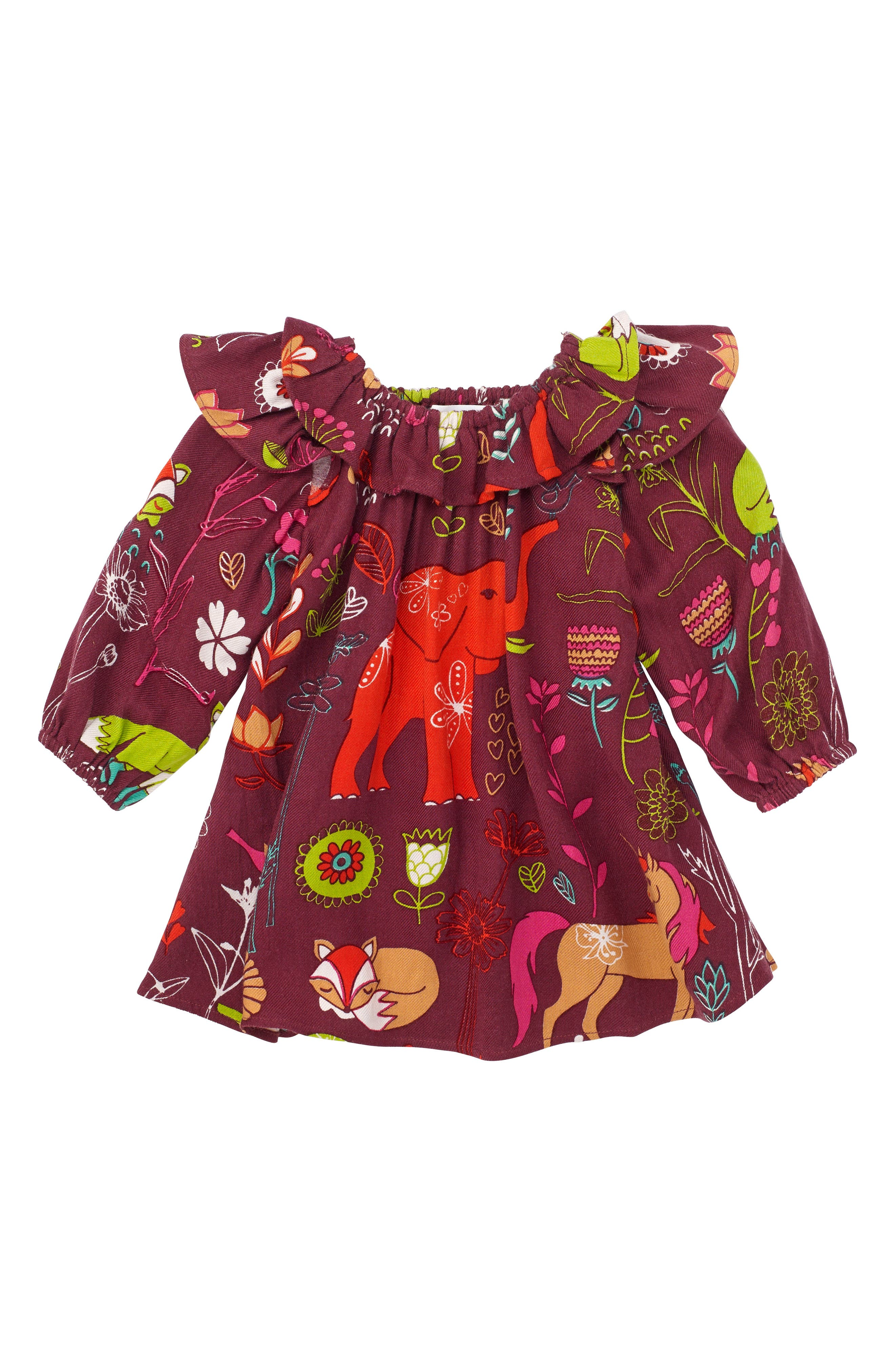 Alternate Image 1 Selected - Masalababy Anais Magical Forest Dress (Baby Girls)