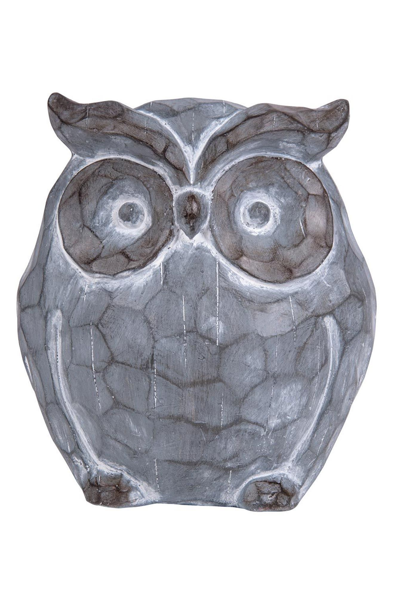 Main Image - Foreside Owl Statue