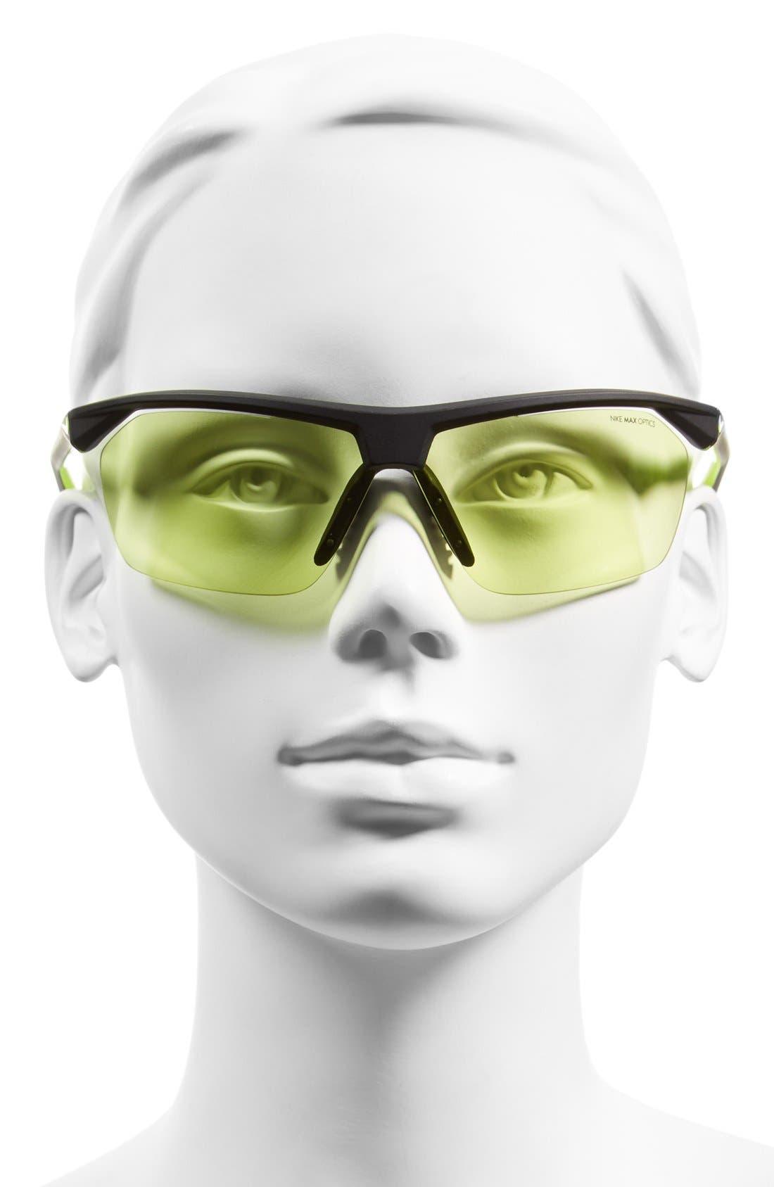 Alternate Image 2  - Nike 'Tailwind' 70mm Semi Rimless Sunglasses