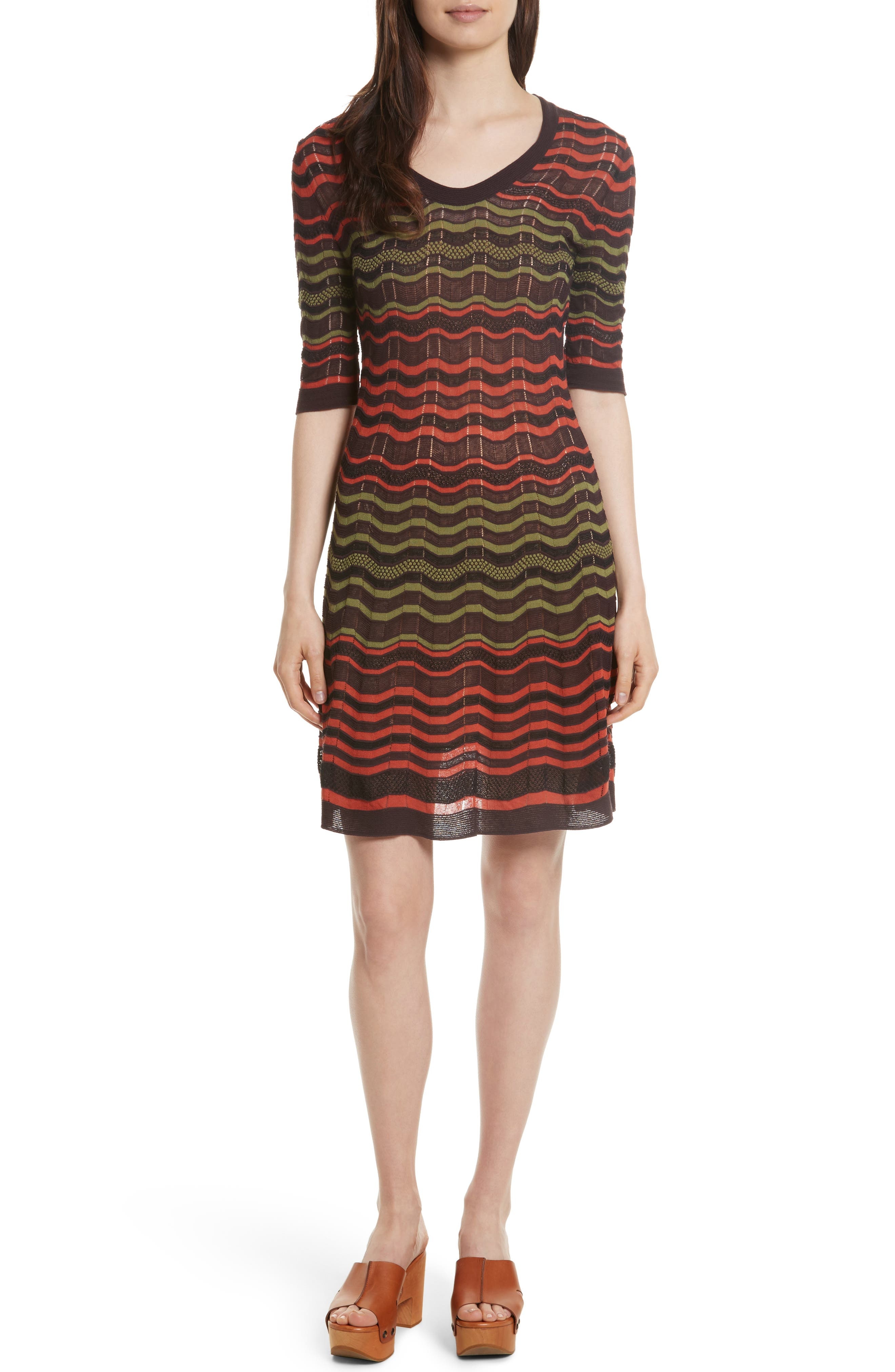 Main Image - M Missoni Greek Key Dress