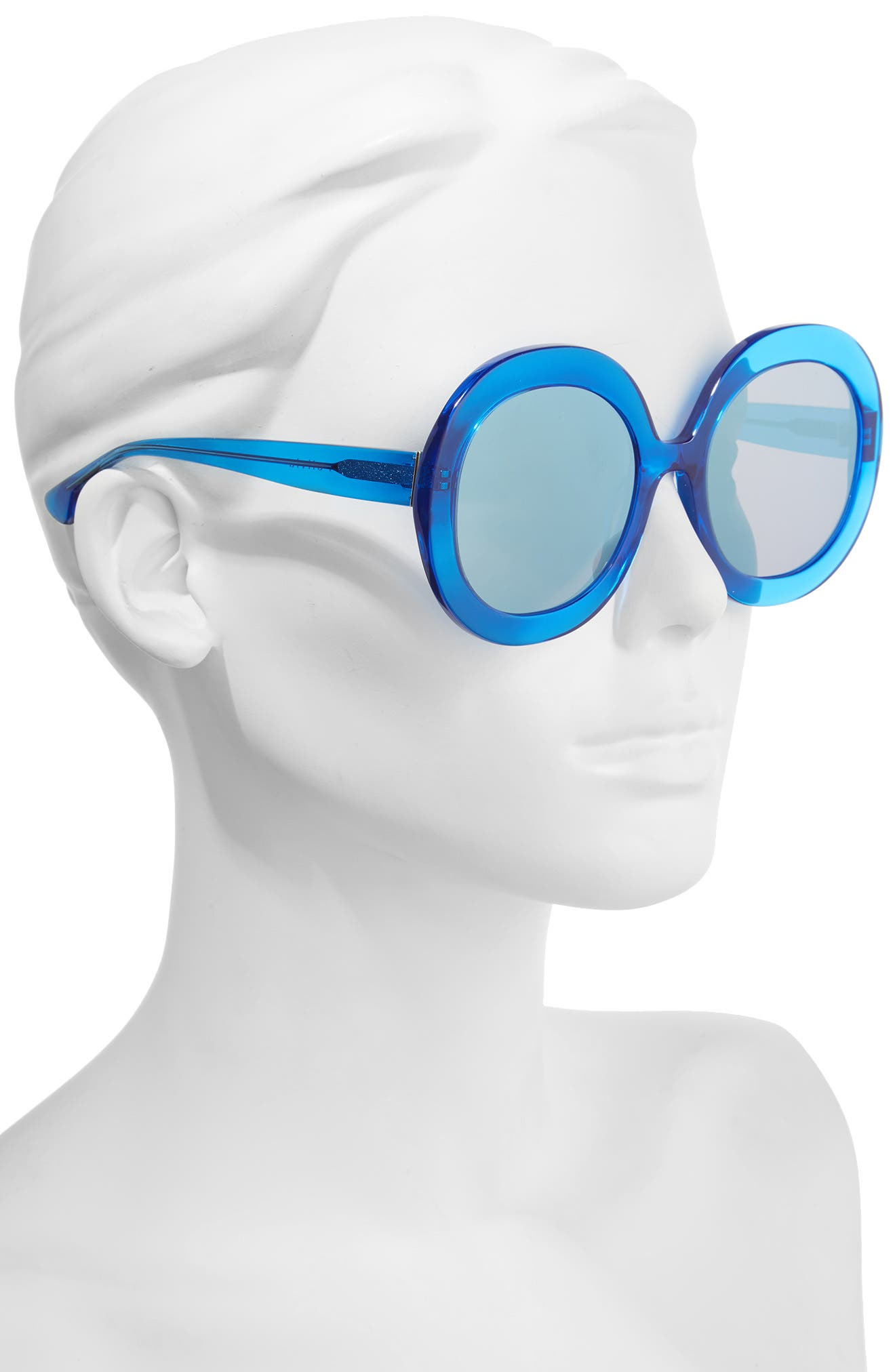 Alternate Image 3  - Alice + Olivia Melrose 56mm Round Sunglasses