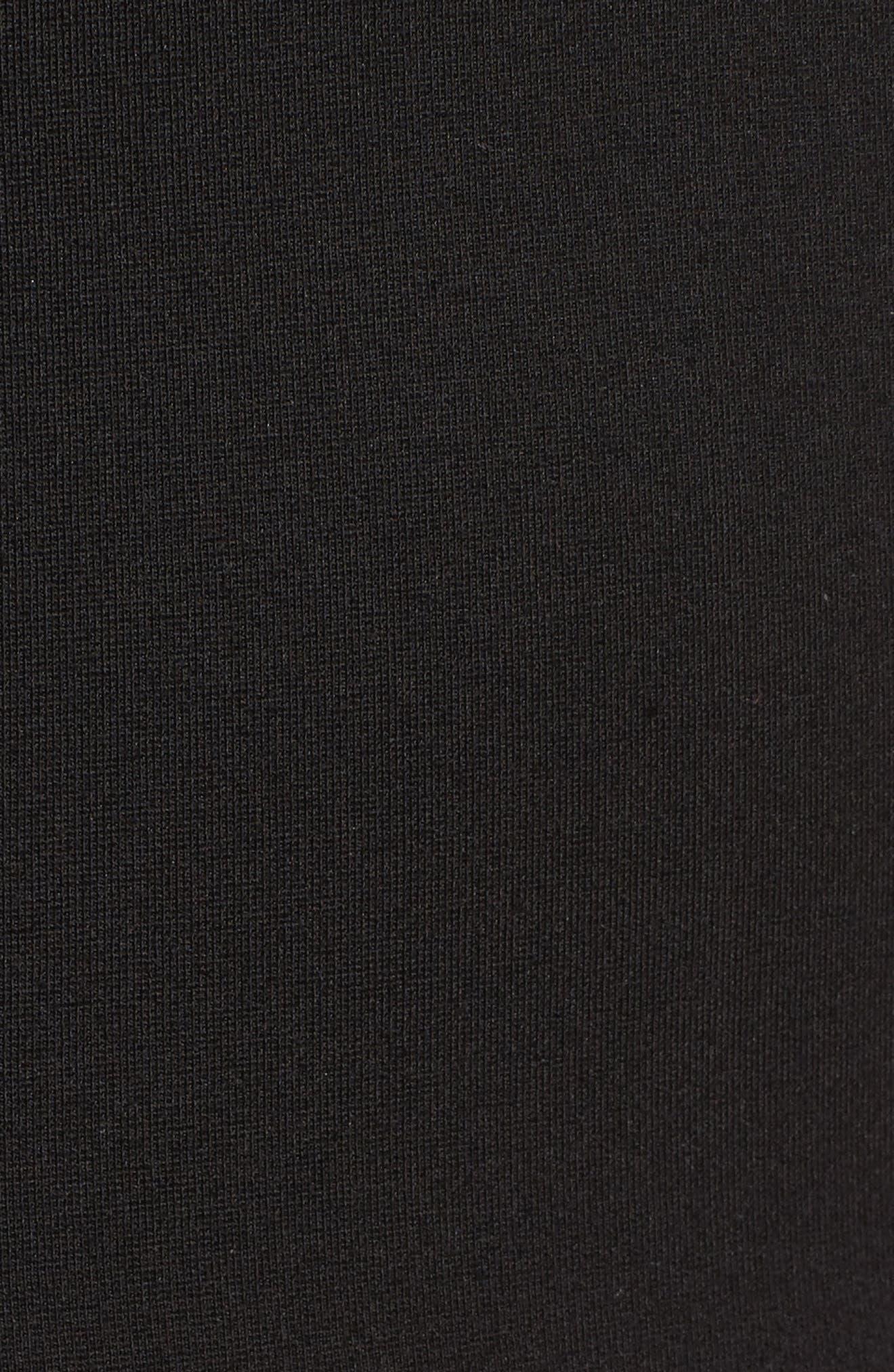 Galactica Body-Con Dress,                             Alternate thumbnail 5, color,                             Black