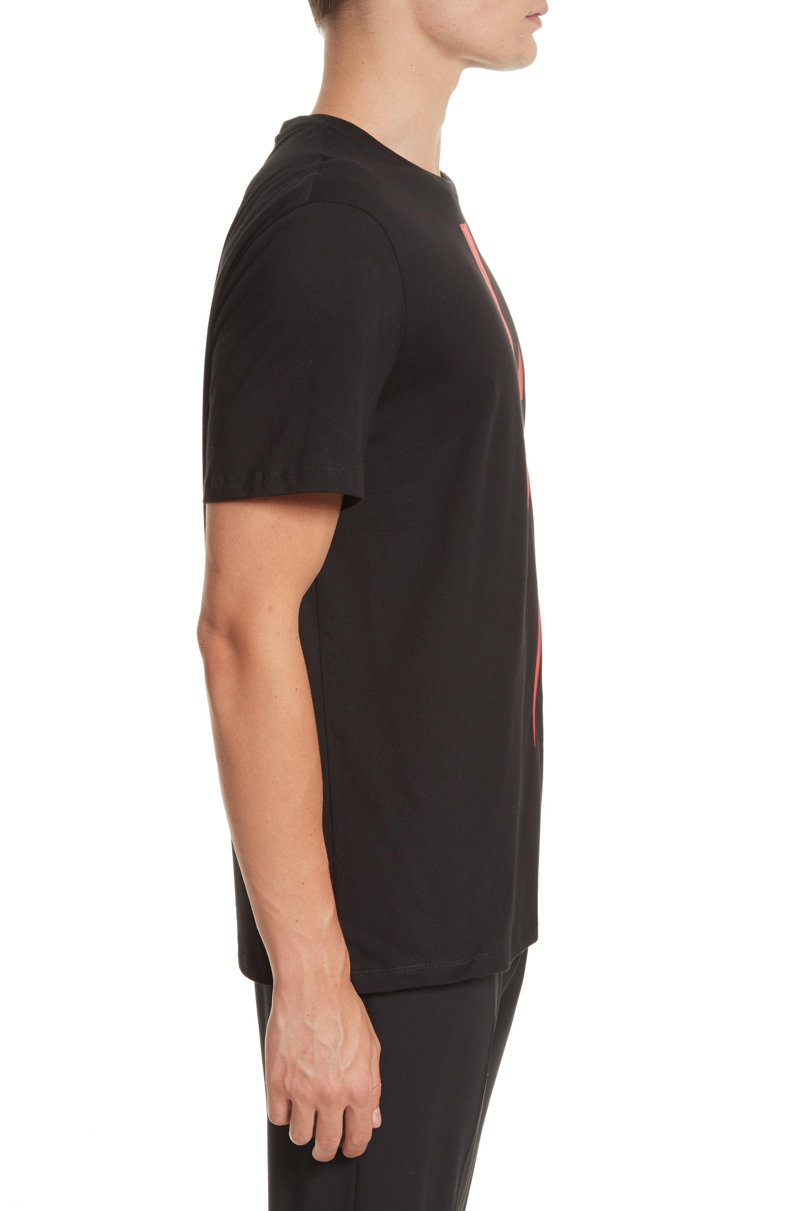 Alternate Image 3  - Neil Barrett Thunderbolt Graphic T-Shirt