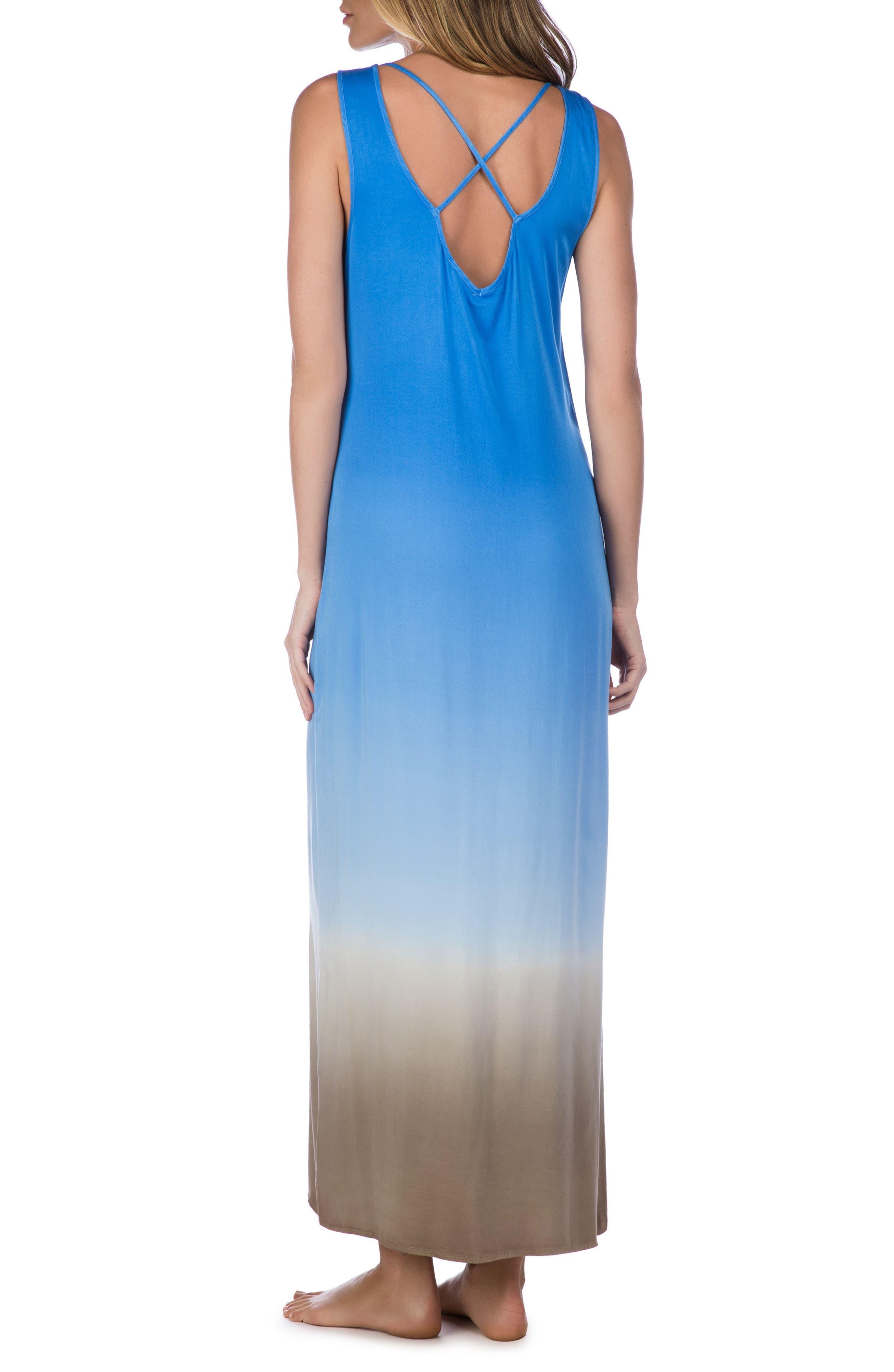 Alternate Image 2  - La Blanca Convertible Cover-Up Maxi Dress