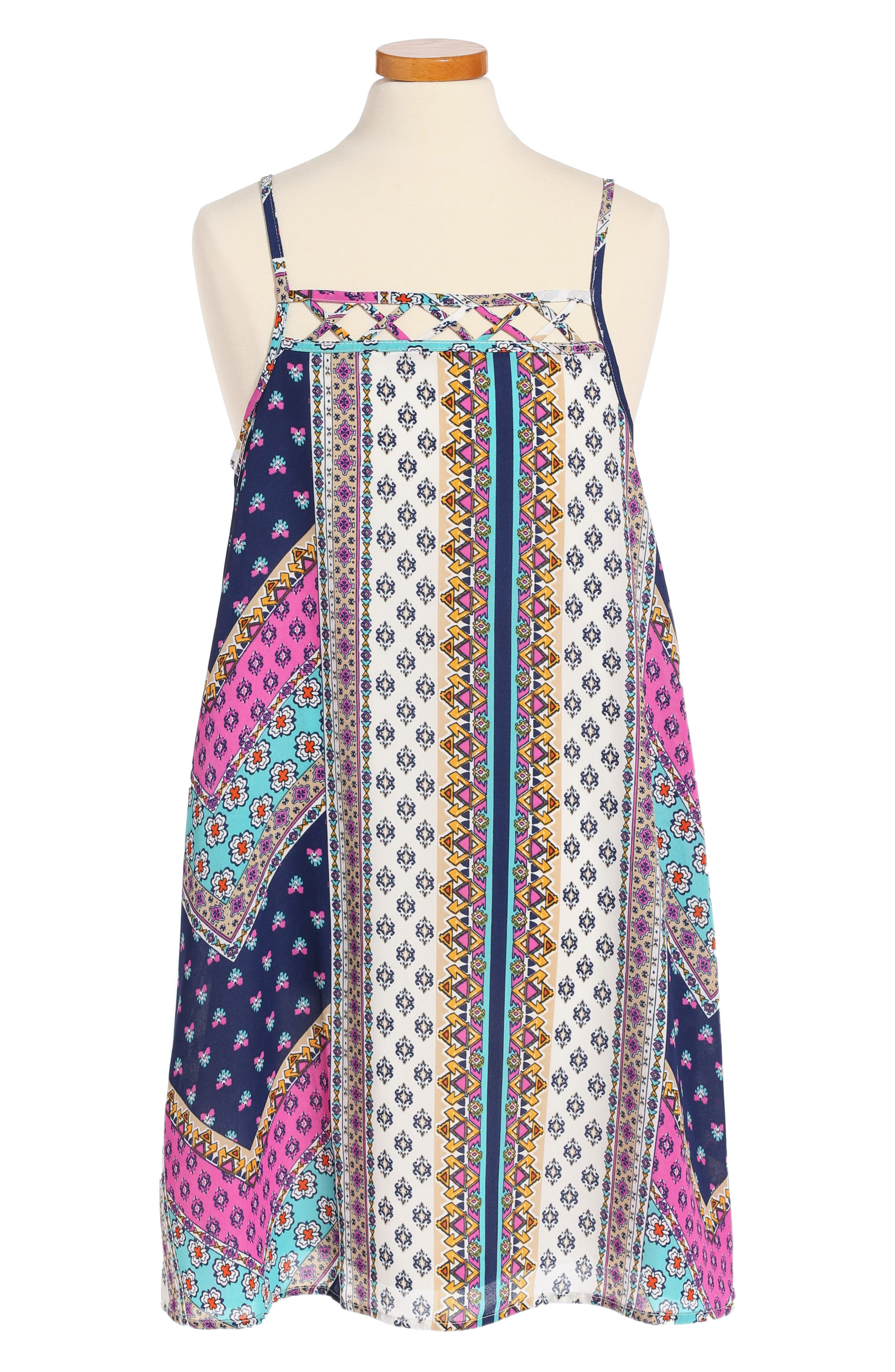 Truly Me Print Sundress (Big Girls)