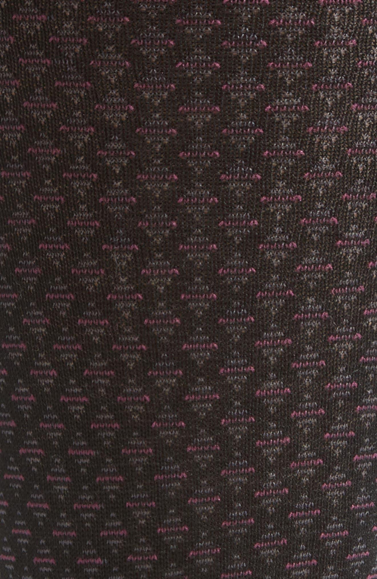 Alternate Image 2  - John W. Nordstrom® Over the Calf Neat Diamond Socks (3 for $48)