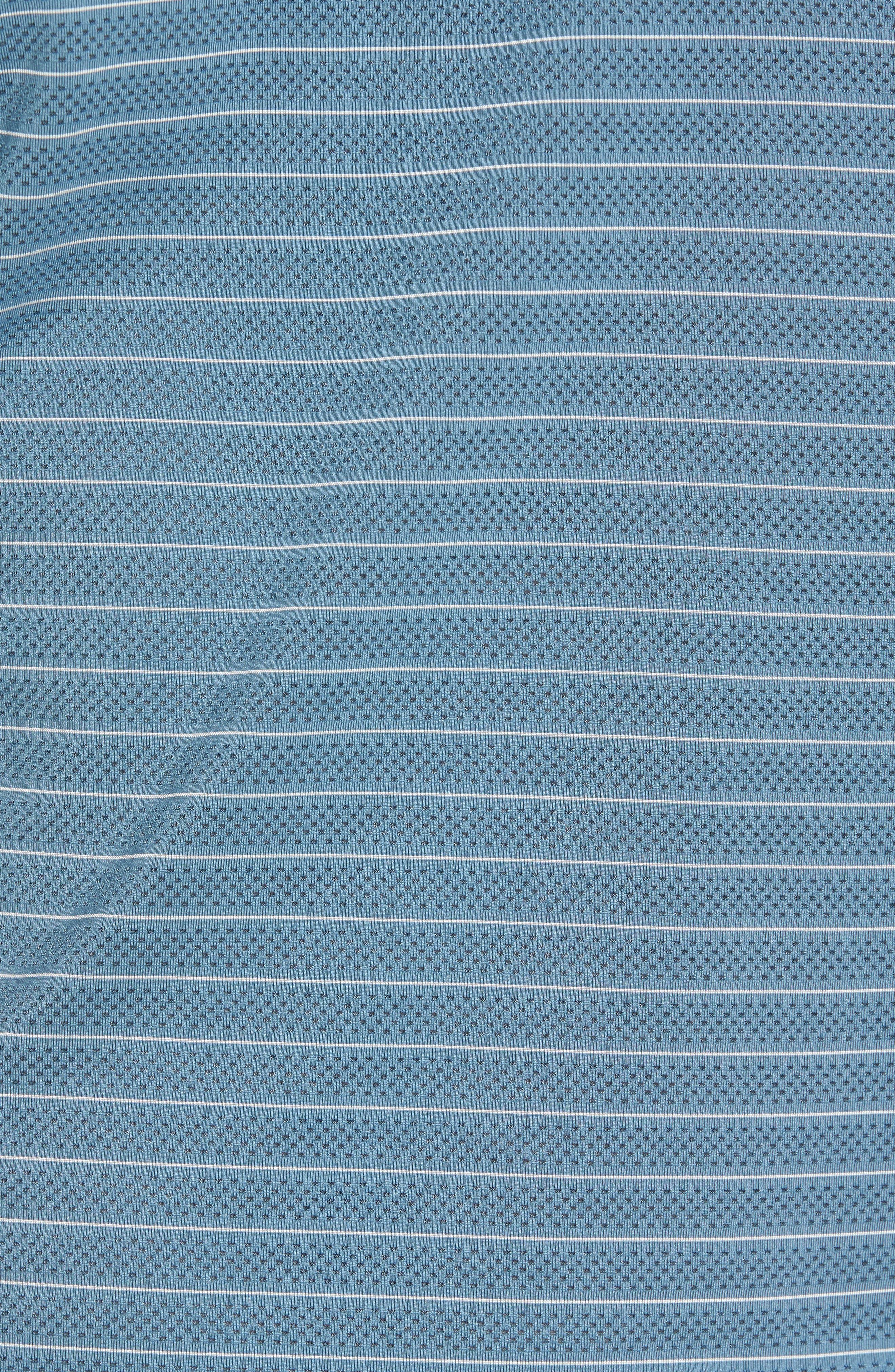Trexler Stripe Polo,                             Alternate thumbnail 5, color,                             Blue Print