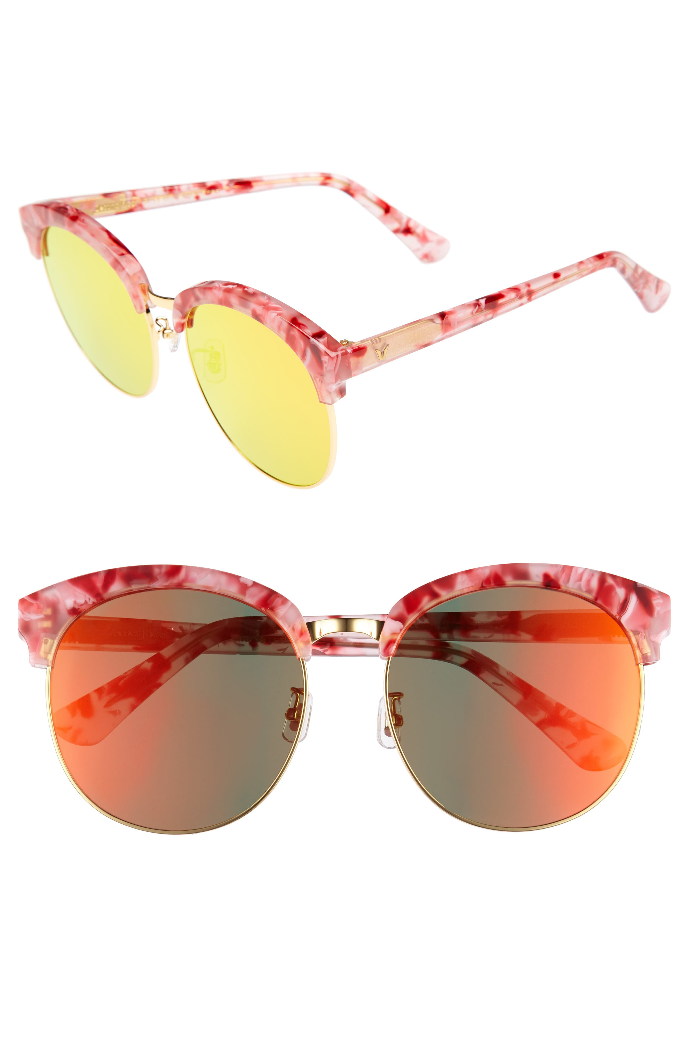 GENTLE MONSTER Deborah 60mm Retro Sunglasses