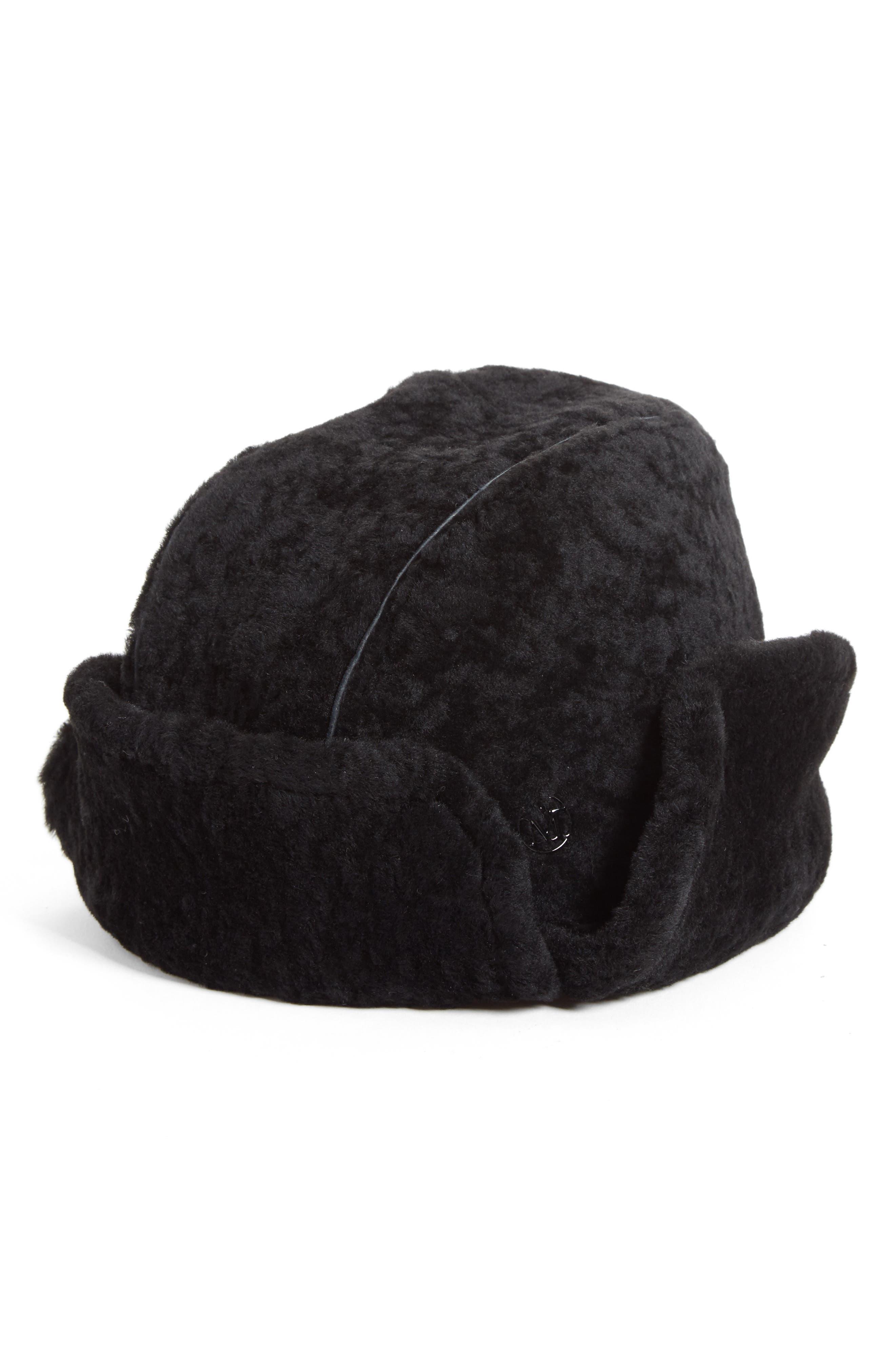 Maison Michel Sofia Plush Alpaca Blend Earflap Hat