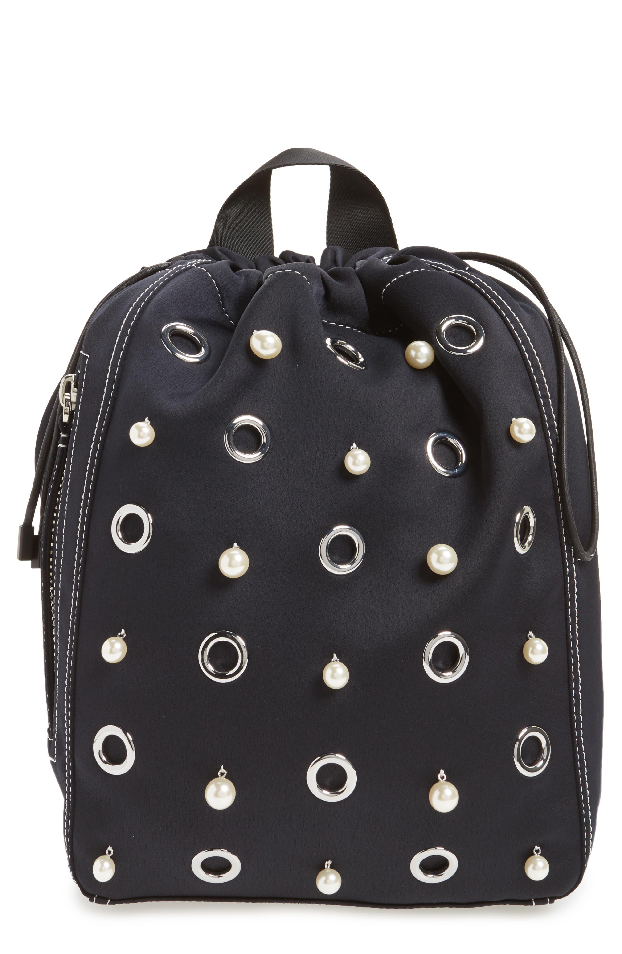 Alternate Image 1 Selected - Phillip Lim 3.1 Medium Go-Go Embellished Backpack
