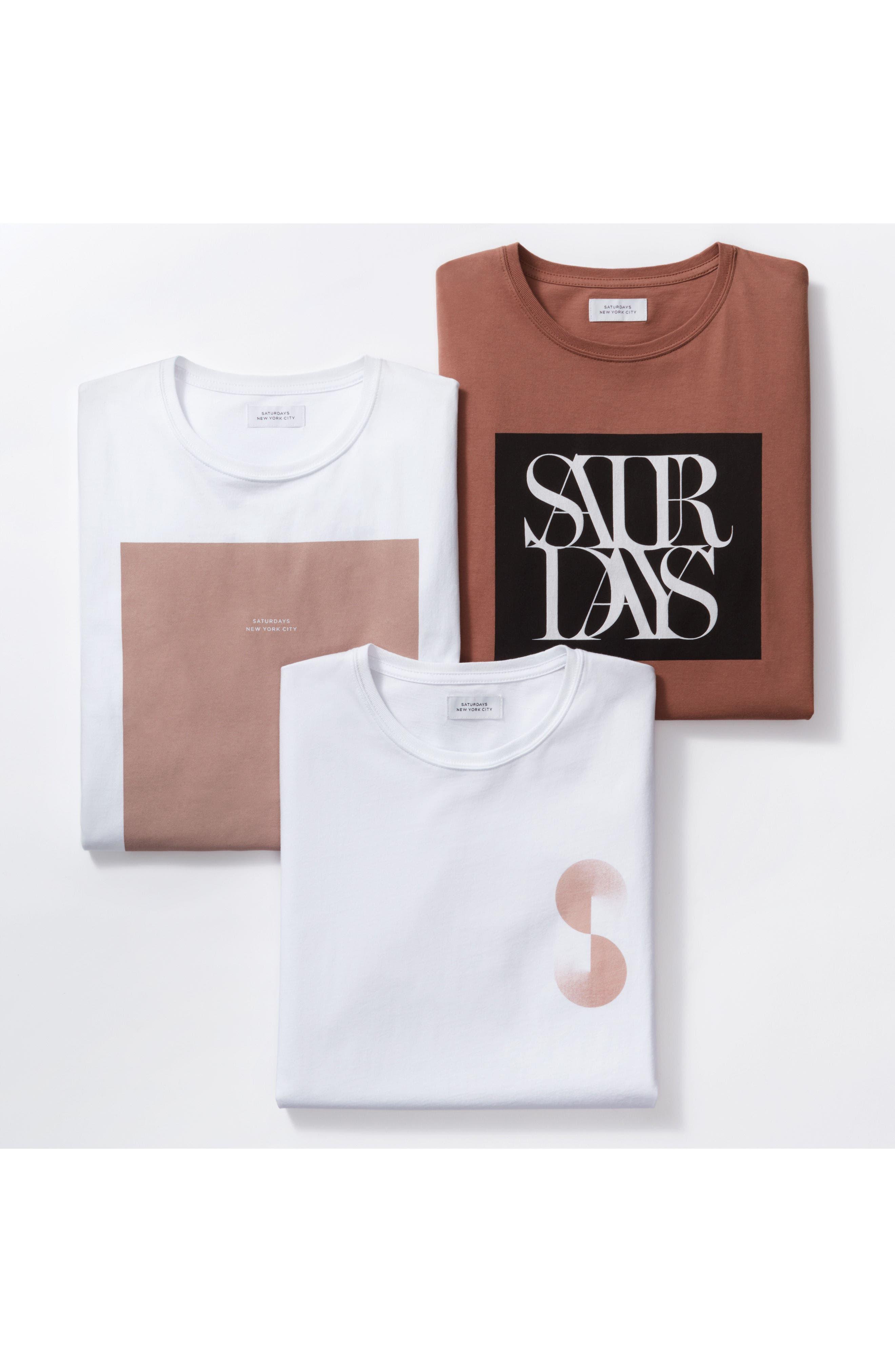 Alternate Image 6  - Saturdays NYC Gradient Graphic T-Shirt