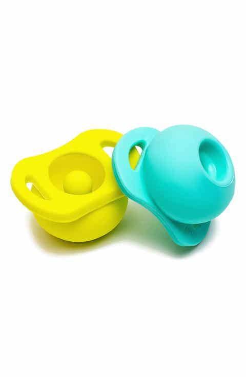 Nordstrom baby clothing shoes accessories nordstrom doddle co 2 pack the pop pacifier negle Gallery