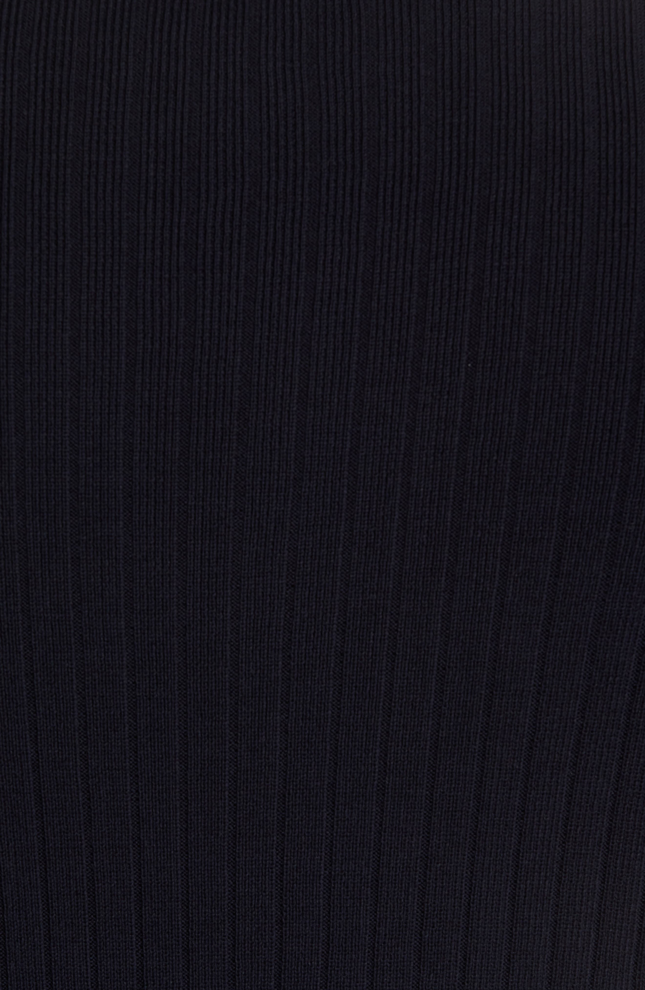 Half Zip Mock Neck Sweater,                             Alternate thumbnail 6, color,                             Coastal