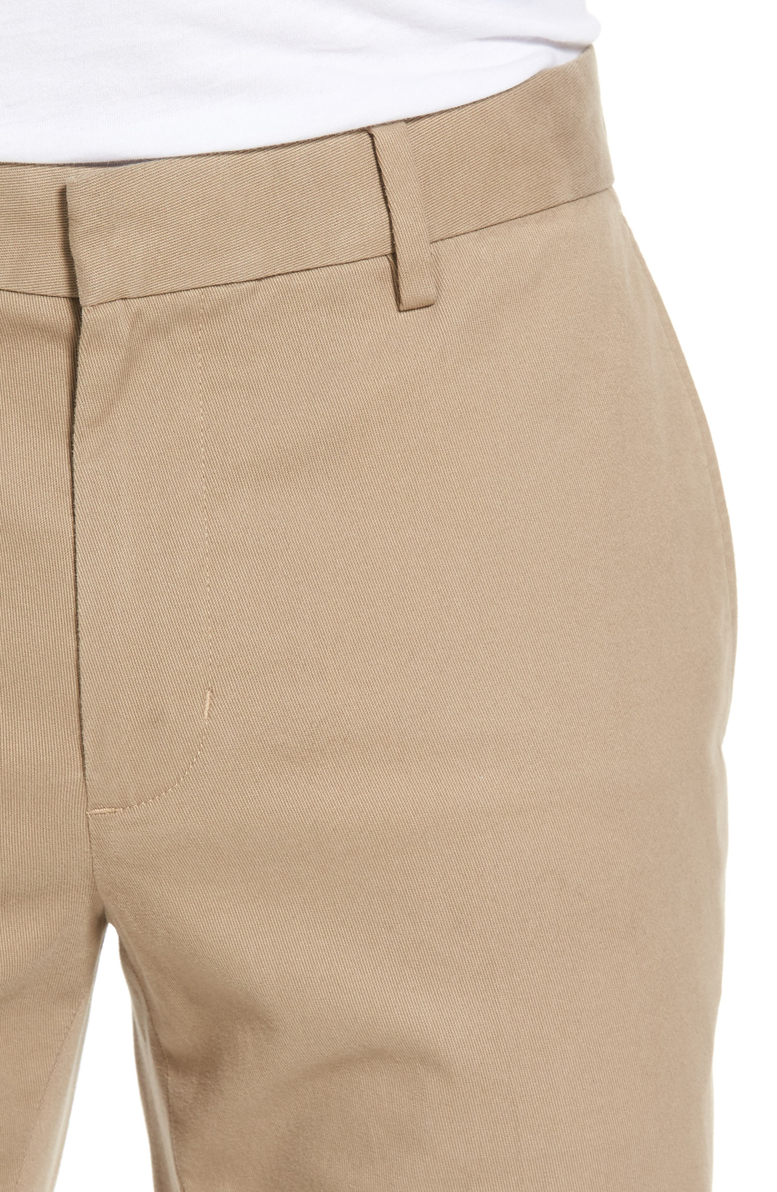 Slim Chinos,                             Alternate thumbnail 4, color,                             Khaki