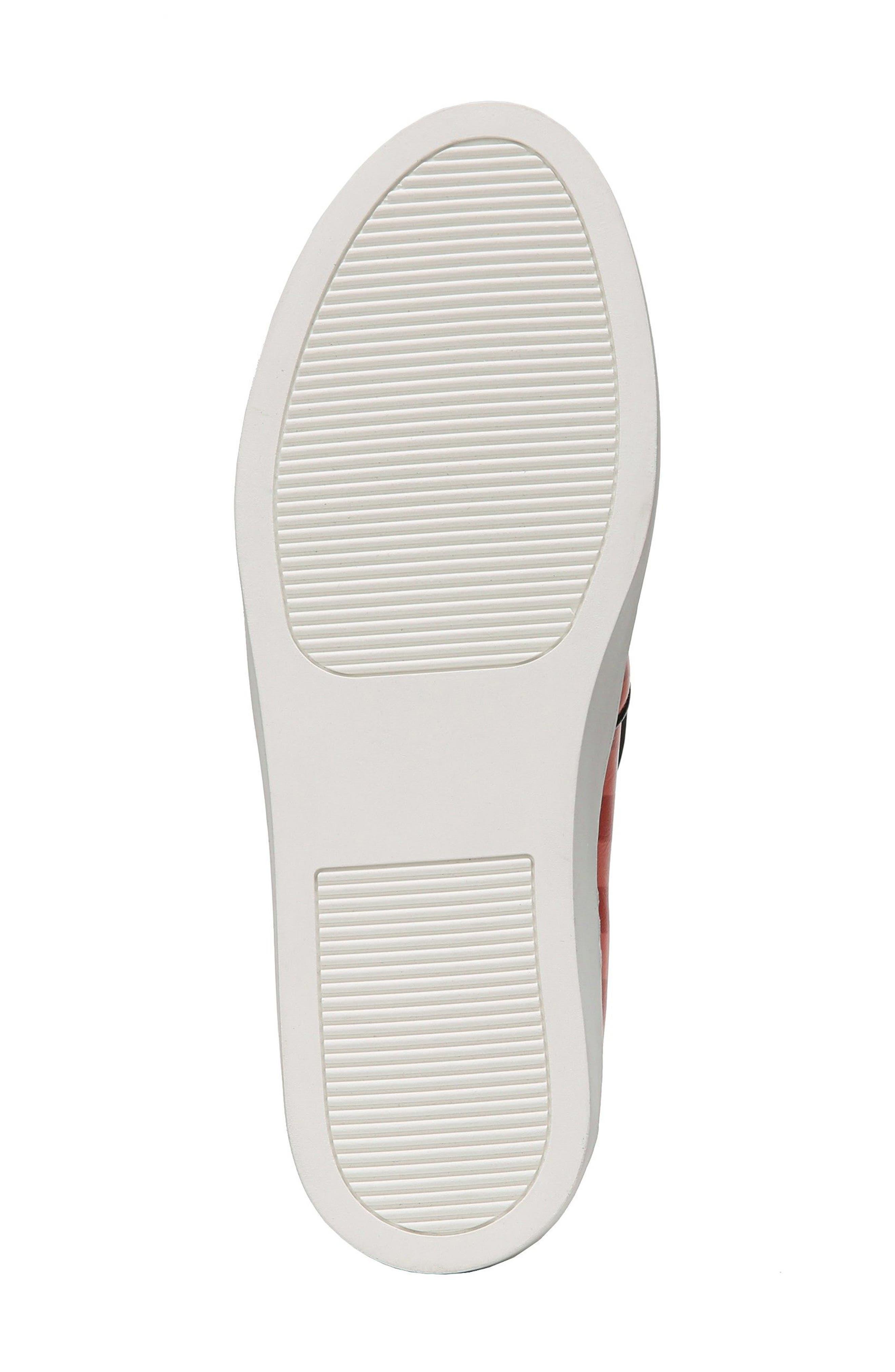 Budapest Slip-On Sneaker,                             Alternate thumbnail 6, color,                             Bold Red/ Black