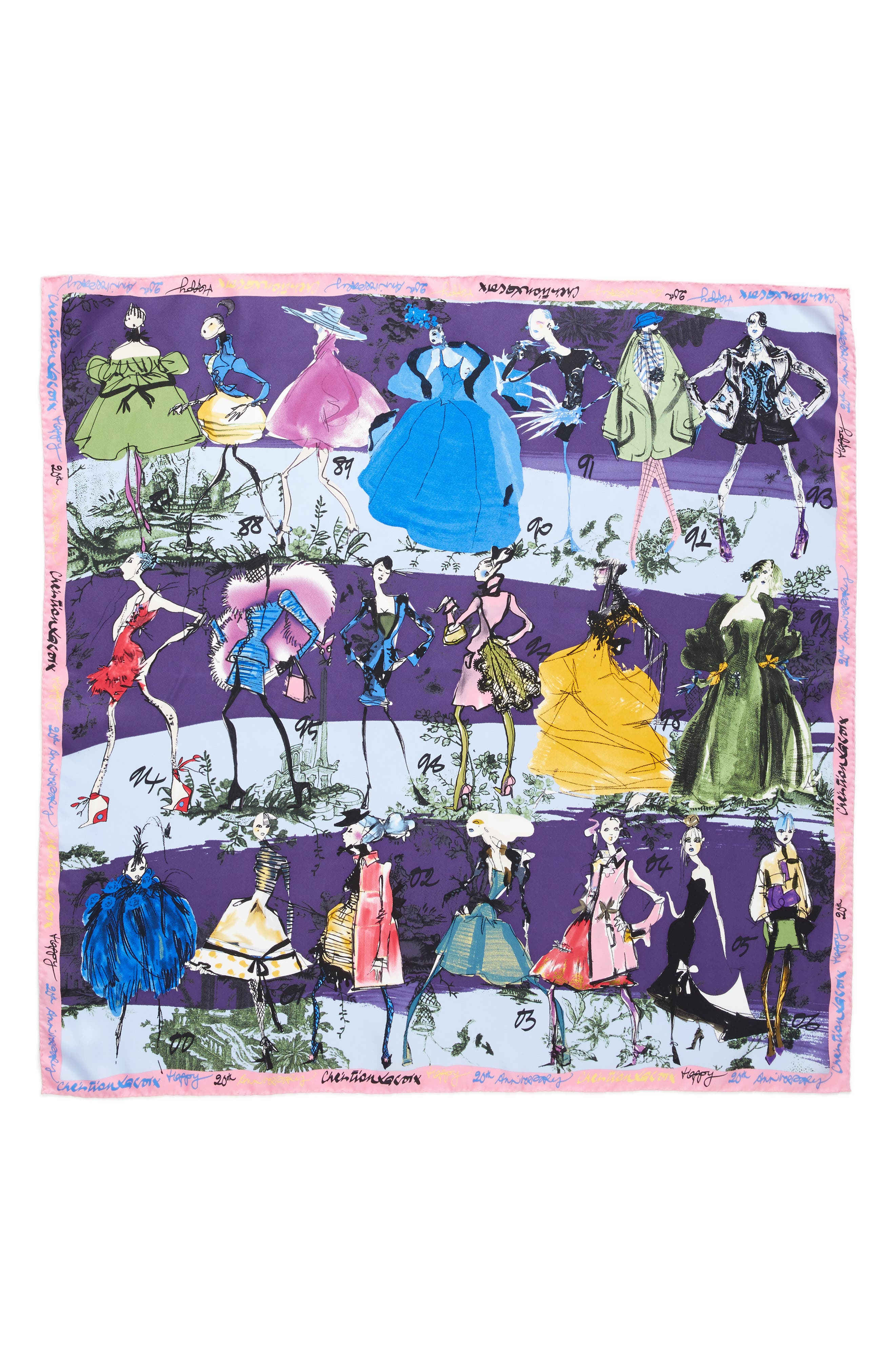 Alternate Image 1 Selected - Christian Lacroix '20 Ans' Square Silk Scarf