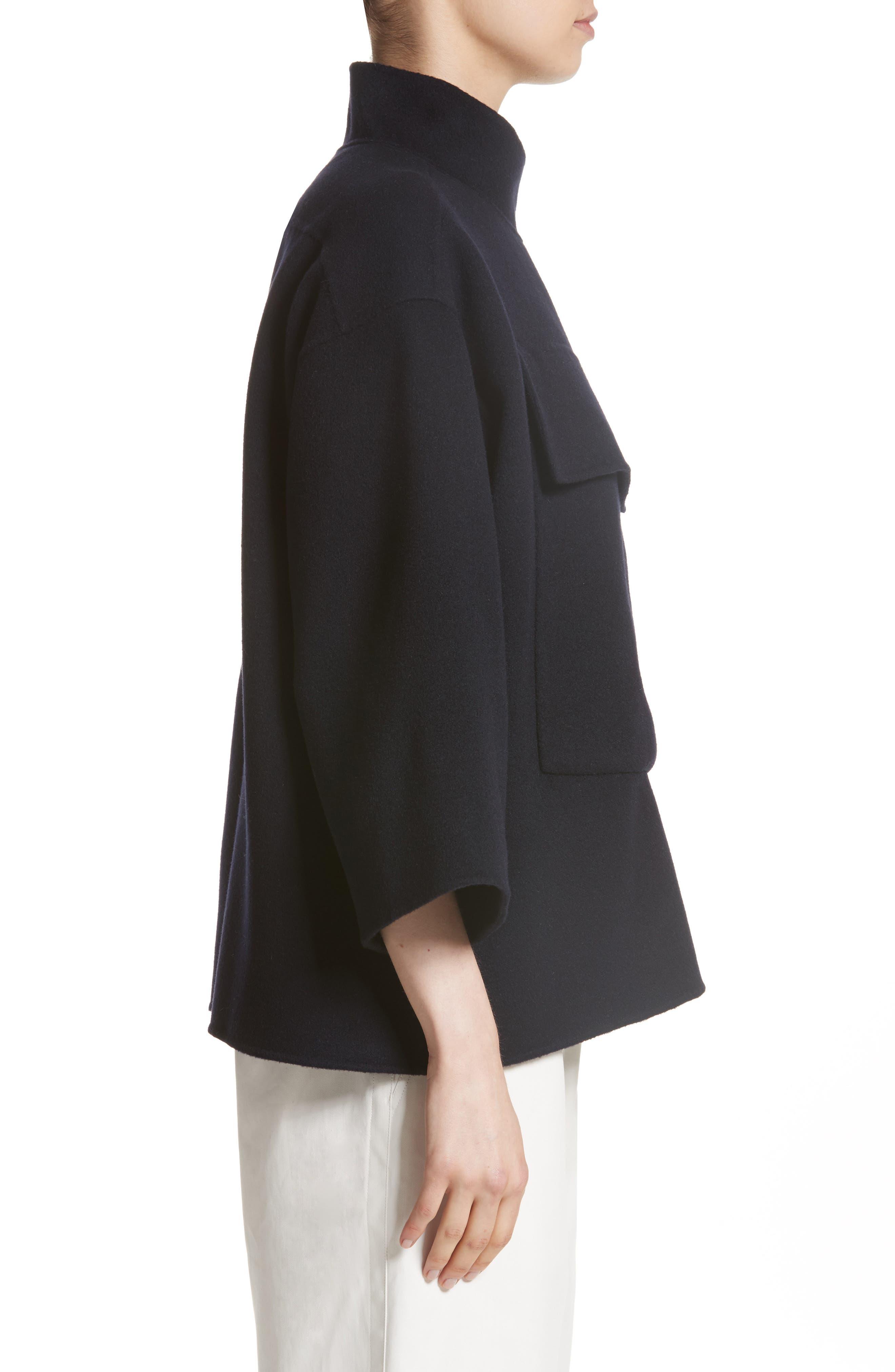 Alternate Image 3  - Sofie D'Hoore Crop Wool & Cashmere Jacket