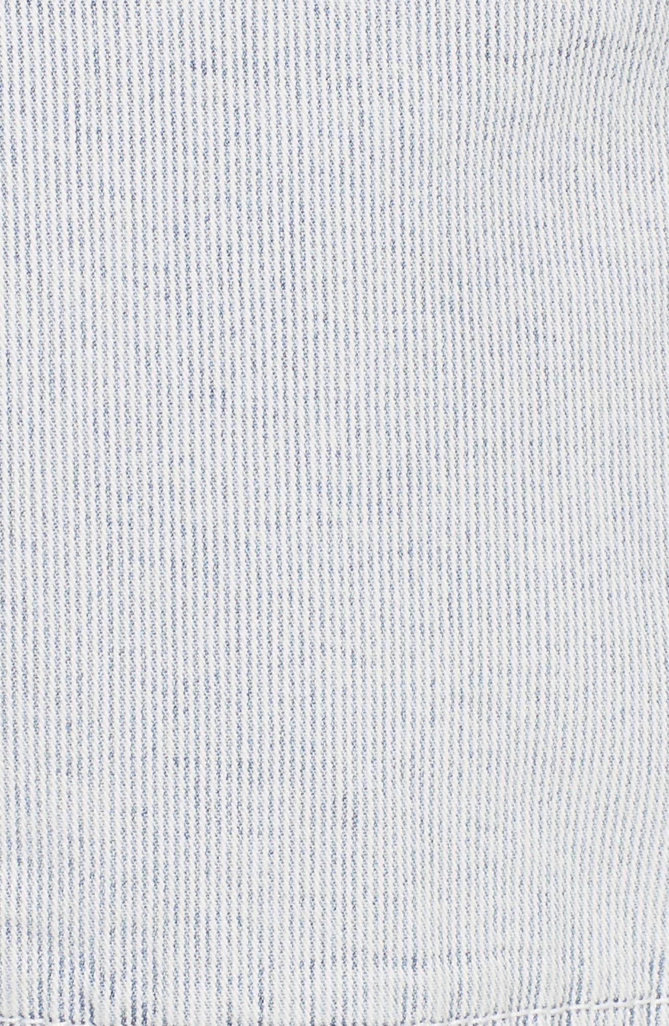 Stripe Ankle Pants,                             Alternate thumbnail 5, color,                             Indigo Combo