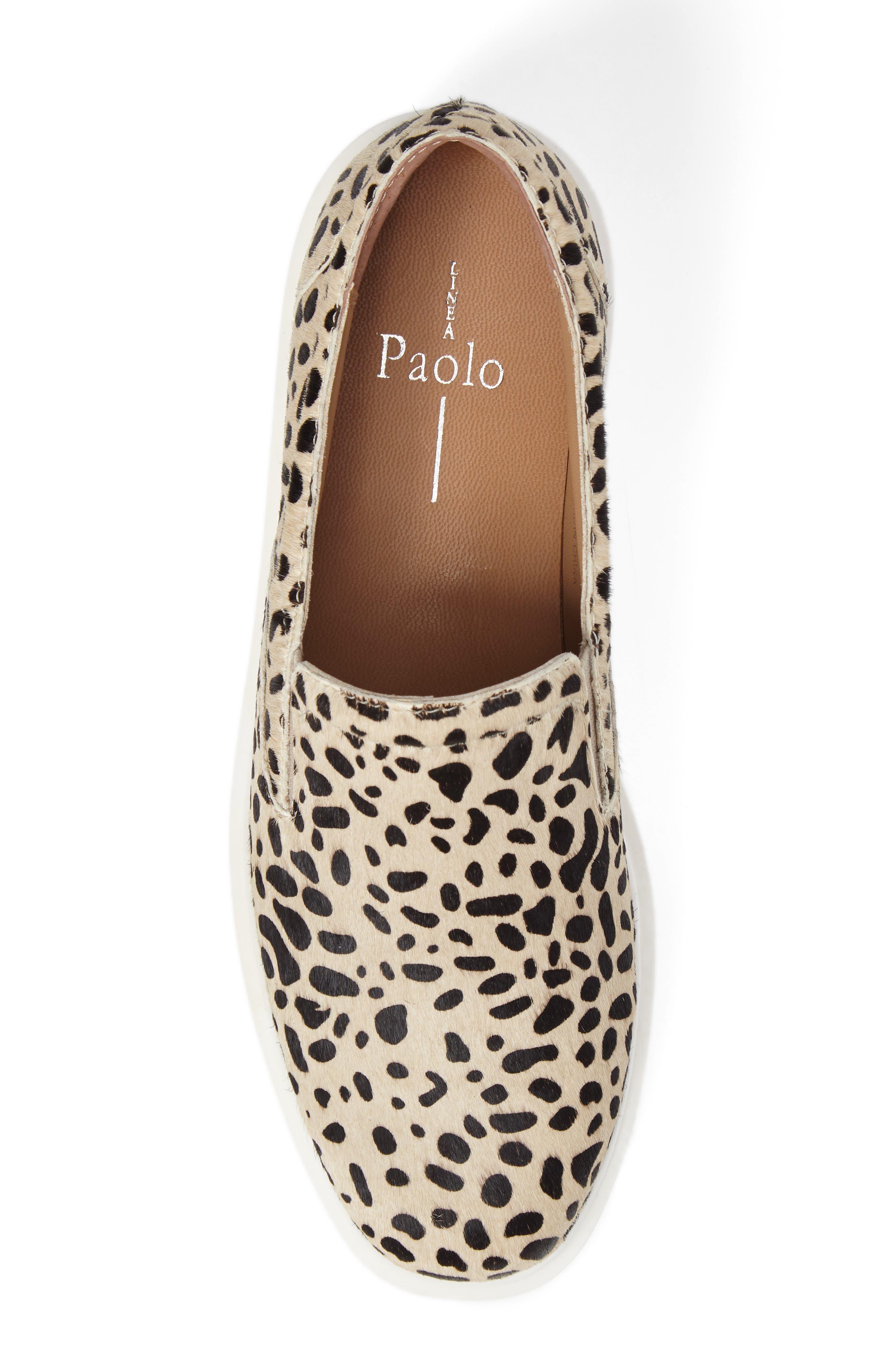 Alternate Image 5  - Linea Paolo Fairfax II Genuine Calf Hair Platform Sneaker (Women)