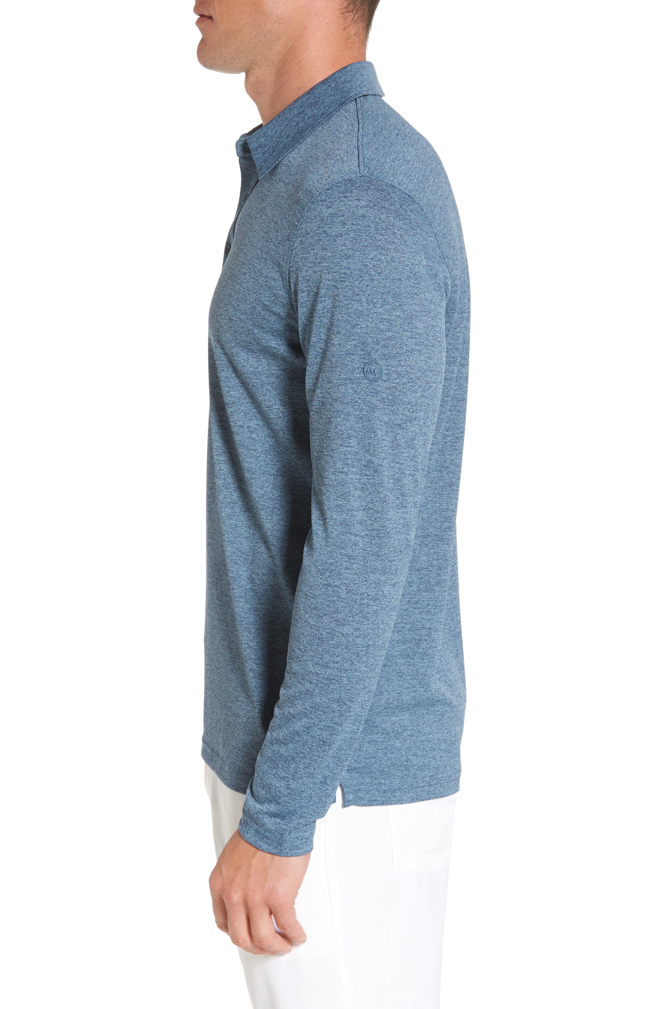Alternate Image 3  - AG Hamden Long Sleeve Polo