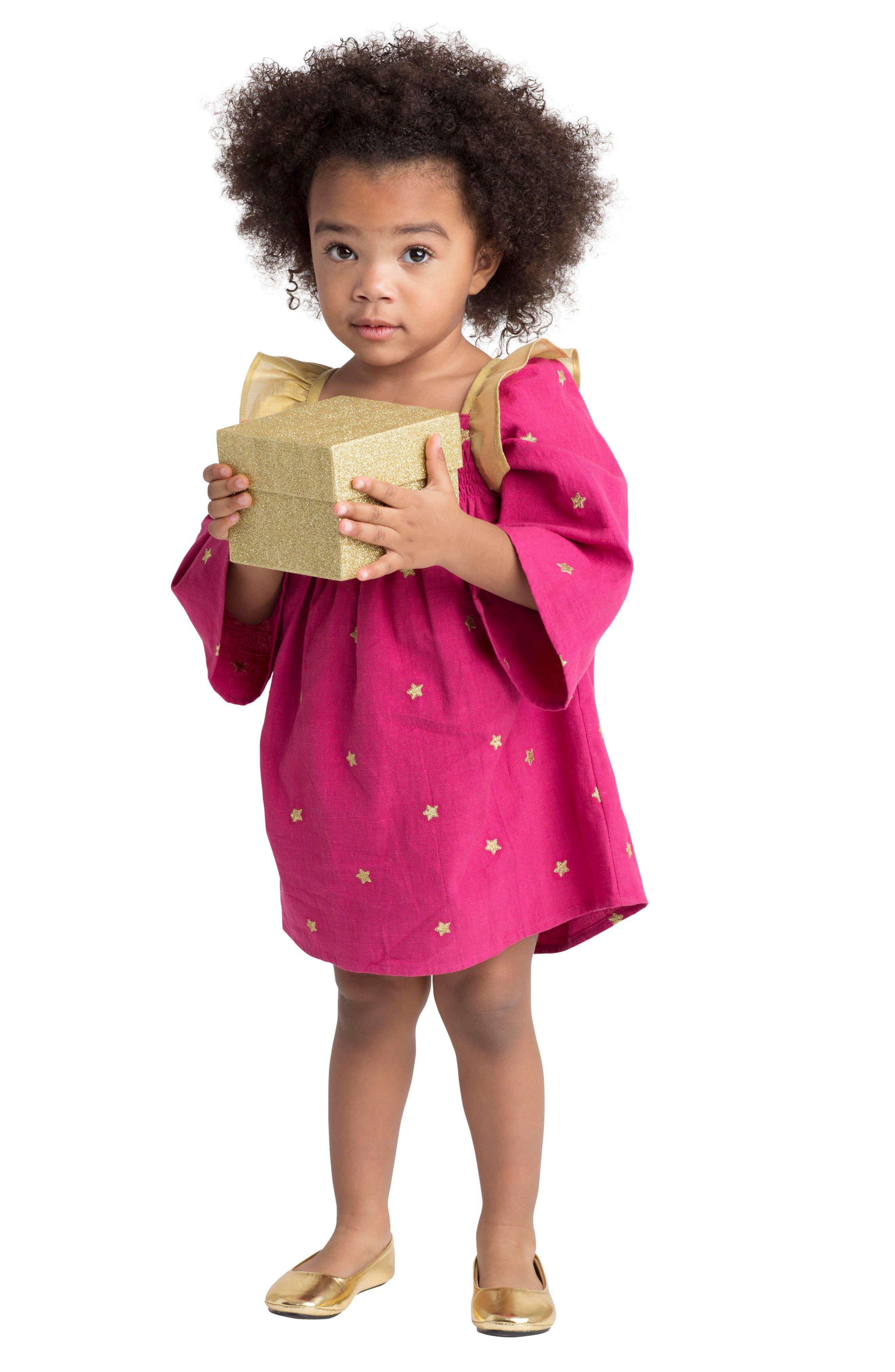 Alternate Image 3  - Masalababy Galaxy Dress (Baby Girls)