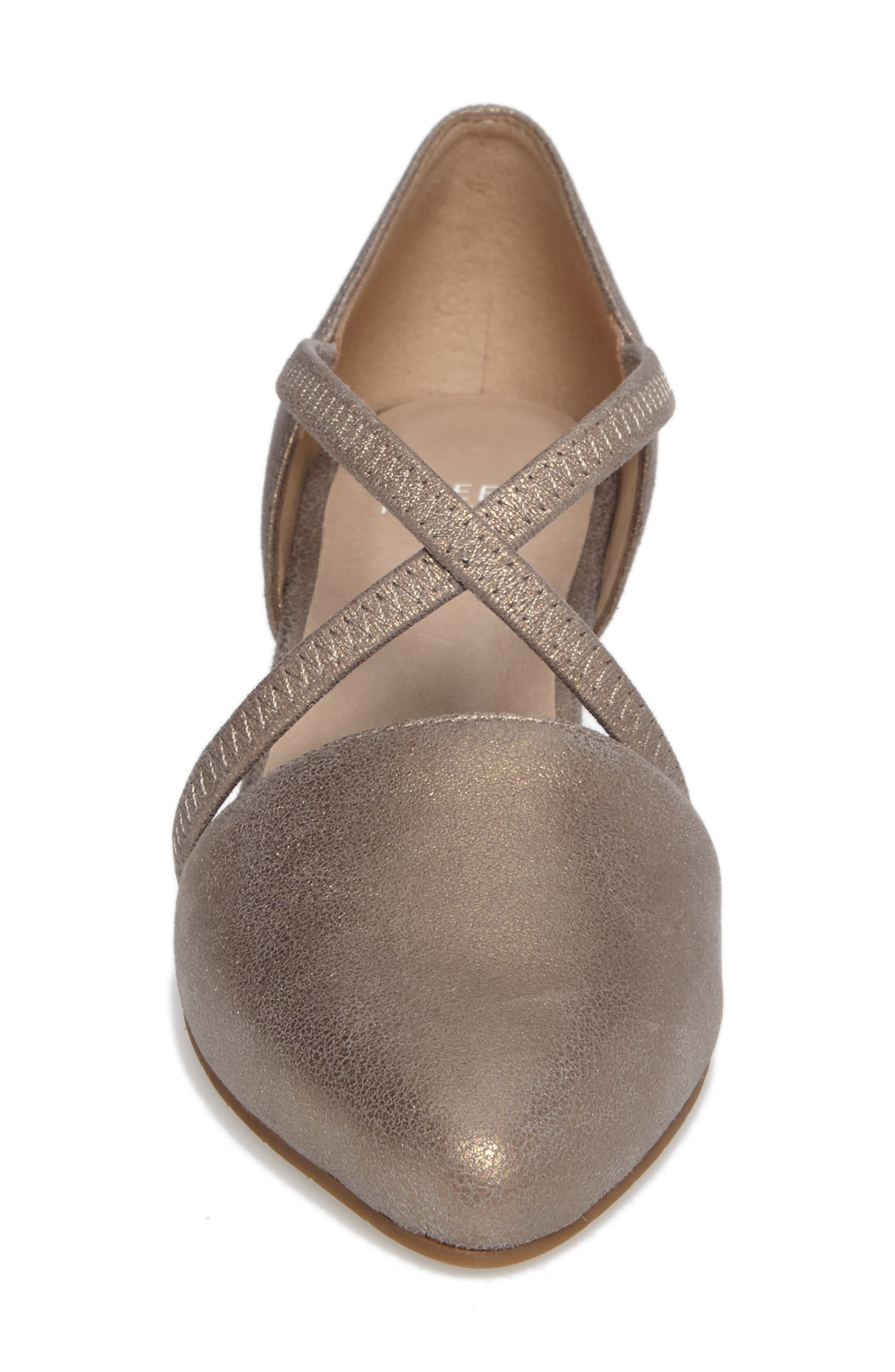 Alternate Image 4  - Eileen Fisher Poet Crisscross Pump (Women)