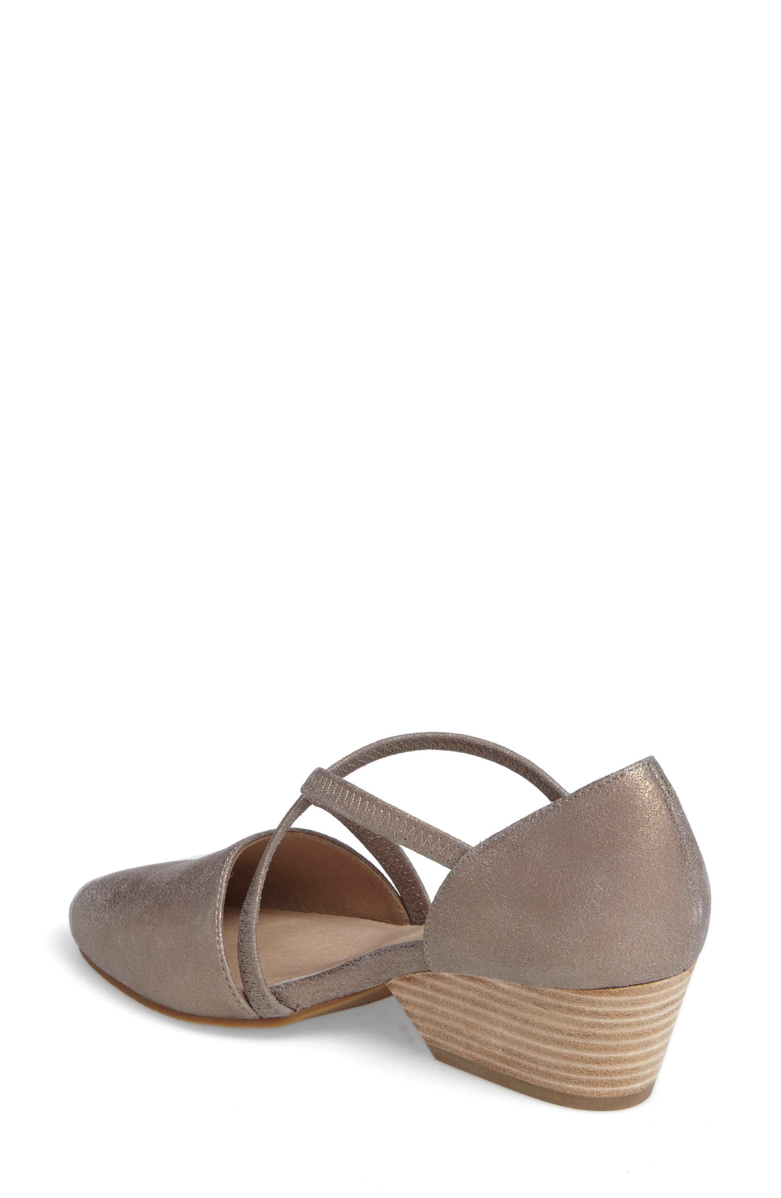 Alternate Image 2  - Eileen Fisher Poet Crisscross Pump (Women)