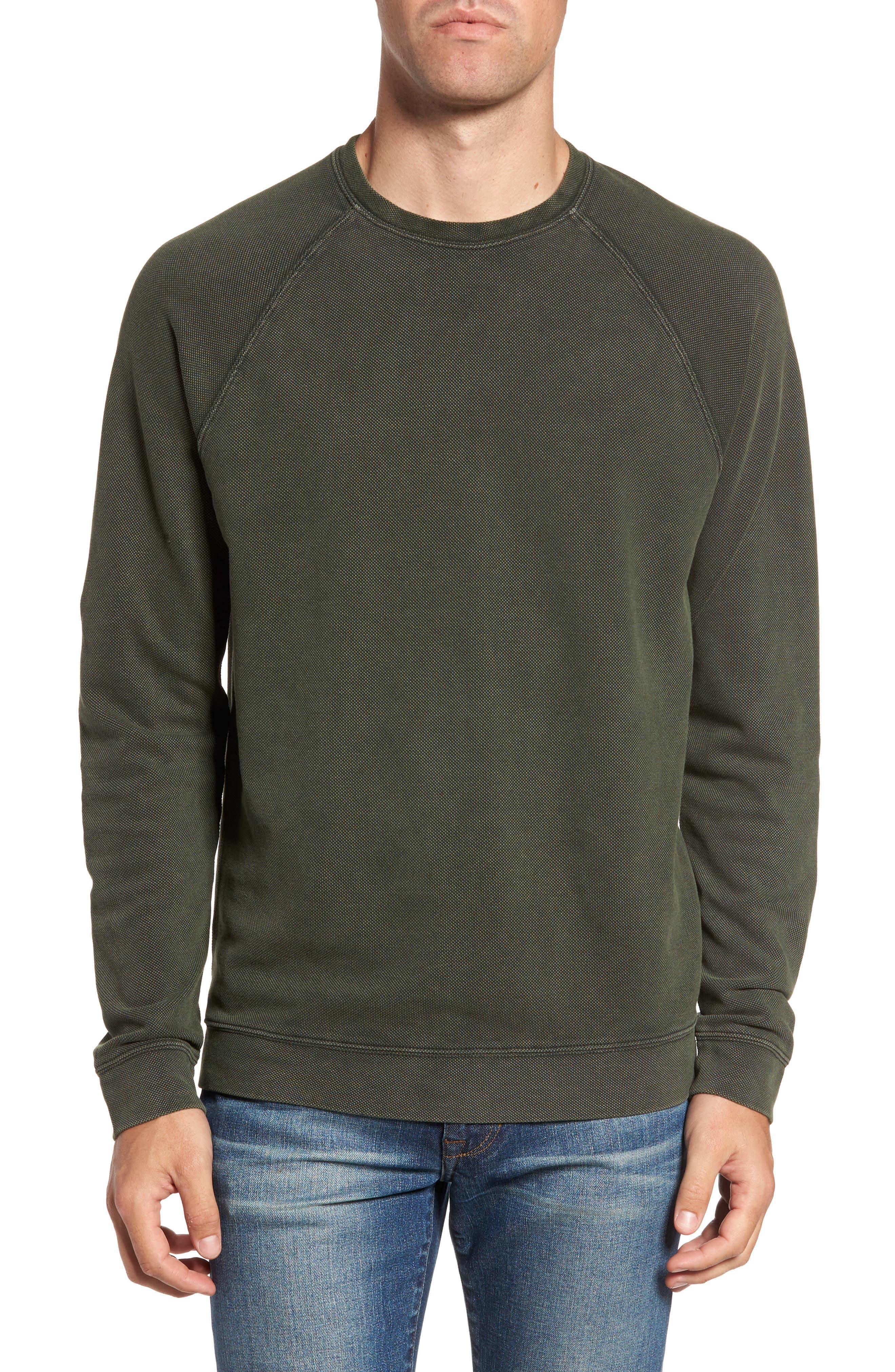 Nordstrom Men's Shop Piqué Sweatshirt