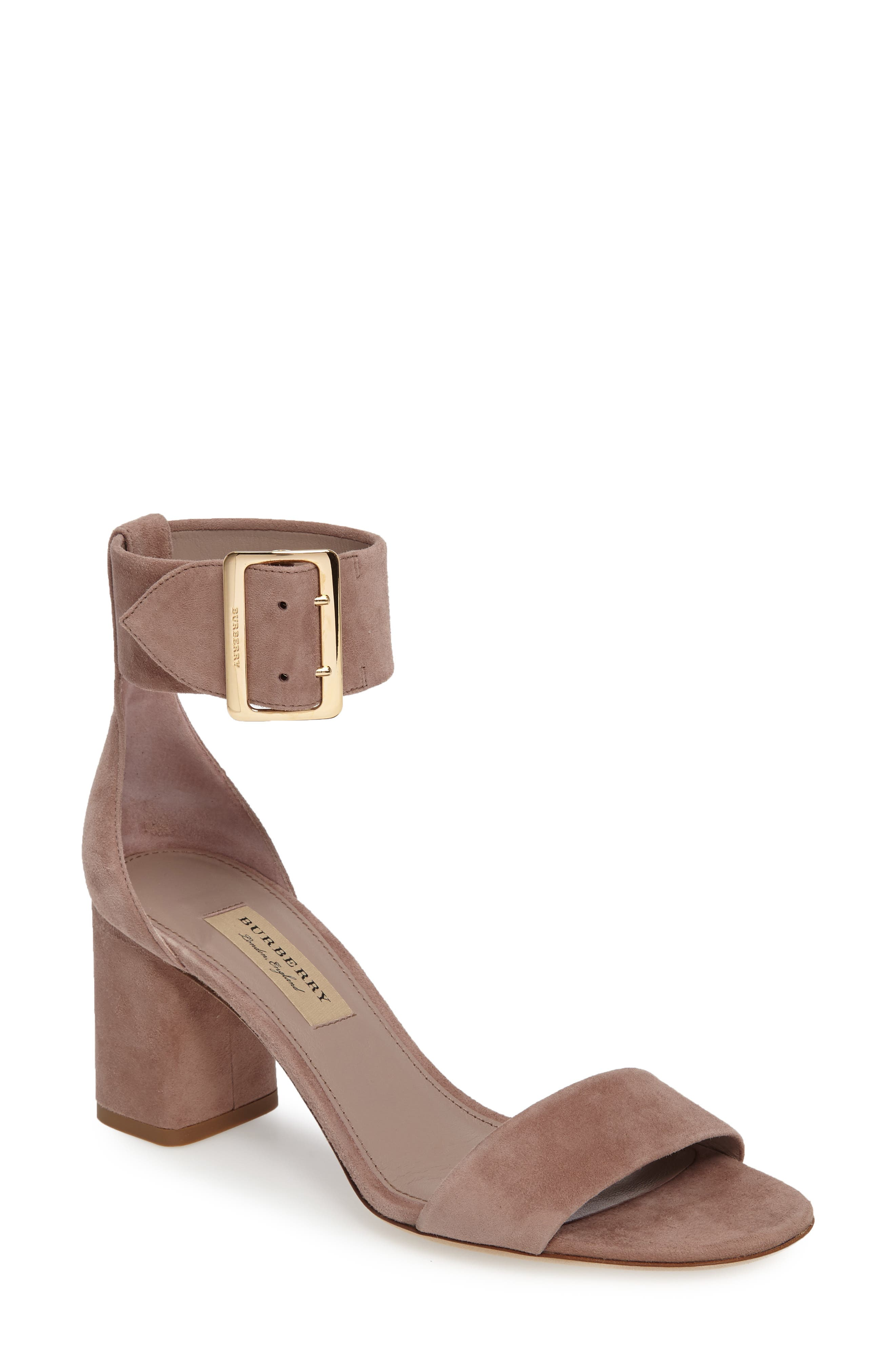 Alternate Image 1 Selected - Burberry Trench Buckle Sandal (Women)