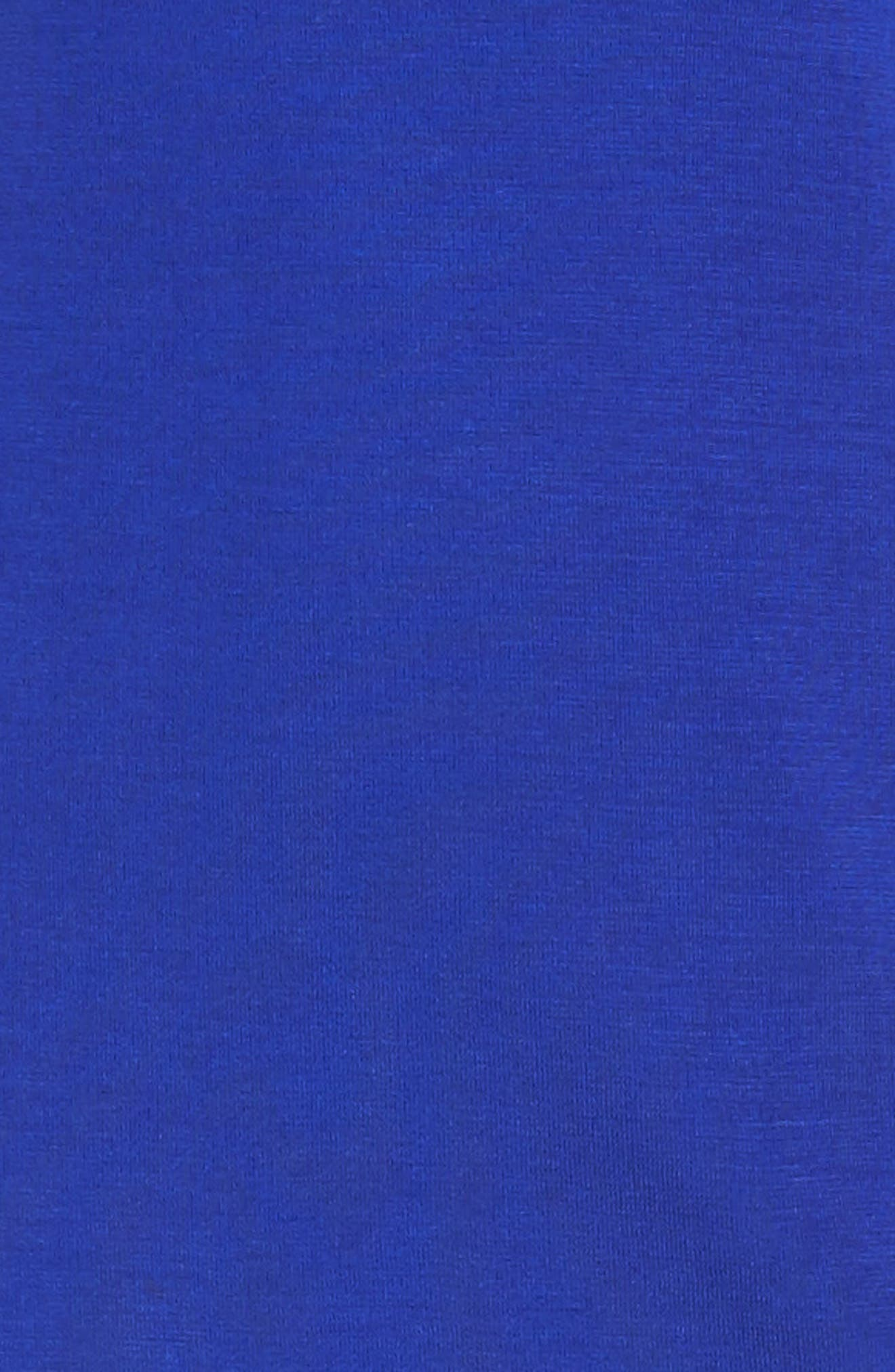 Knit Sheath Dress,                             Alternate thumbnail 6, color,                             Blue Flame