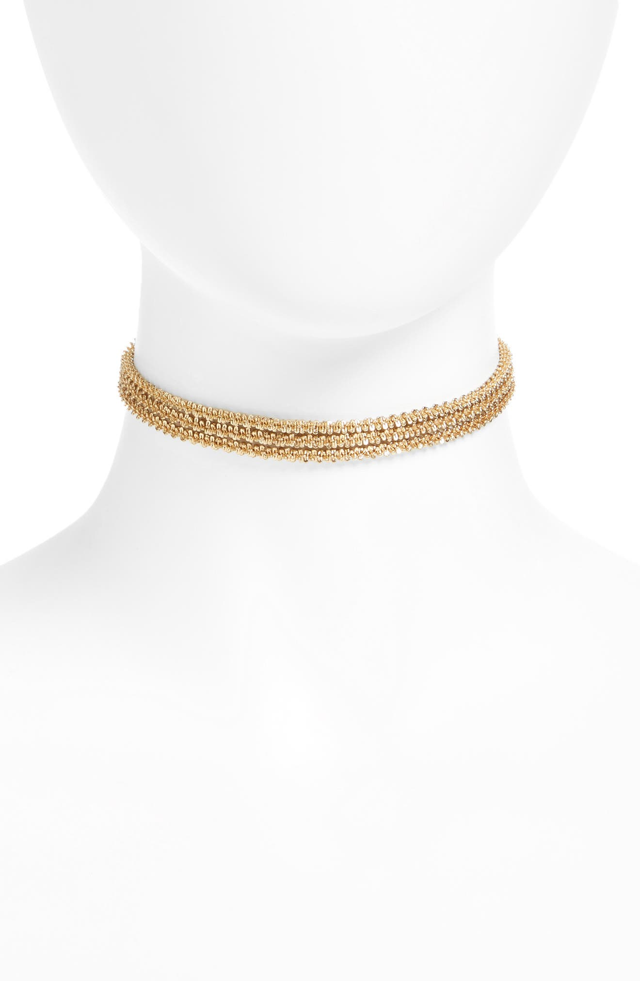 Treasure & Bond Three-Layer Chain Choker