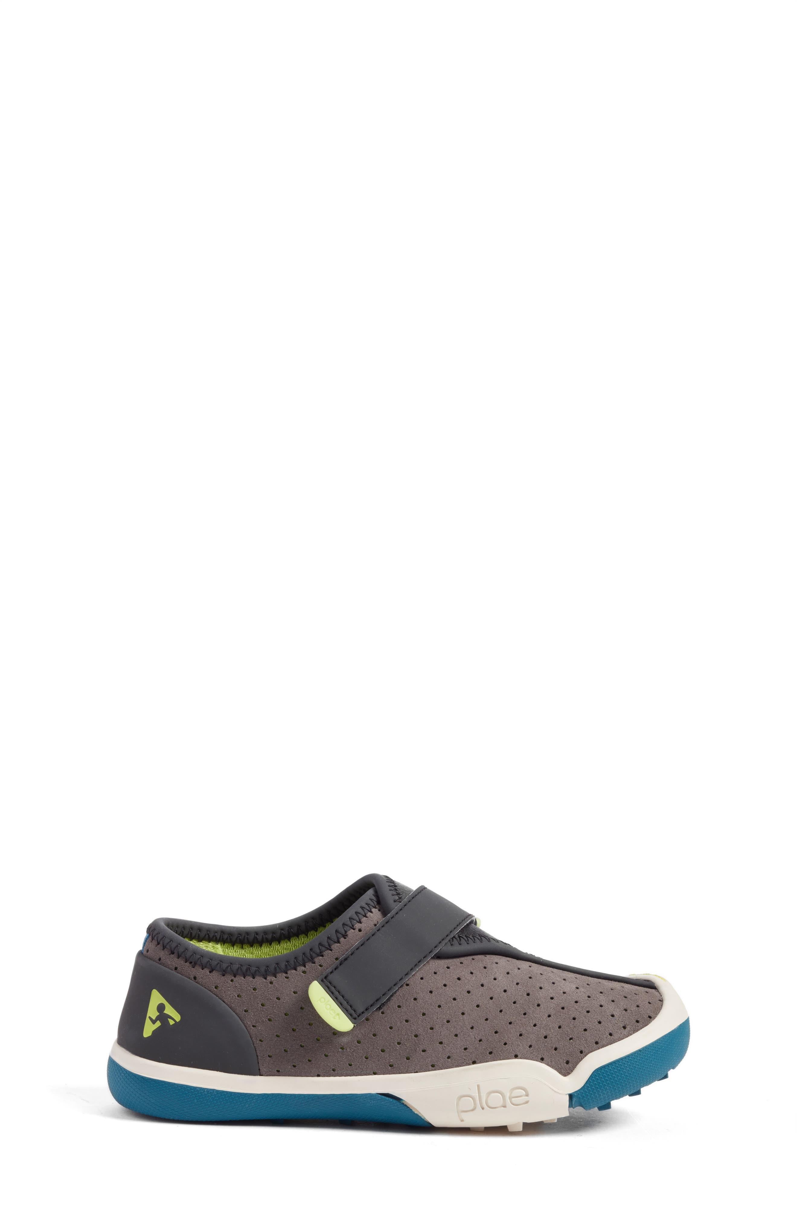 Cam Perforated Sneaker,                             Alternate thumbnail 3, color,                             Lunar Grey