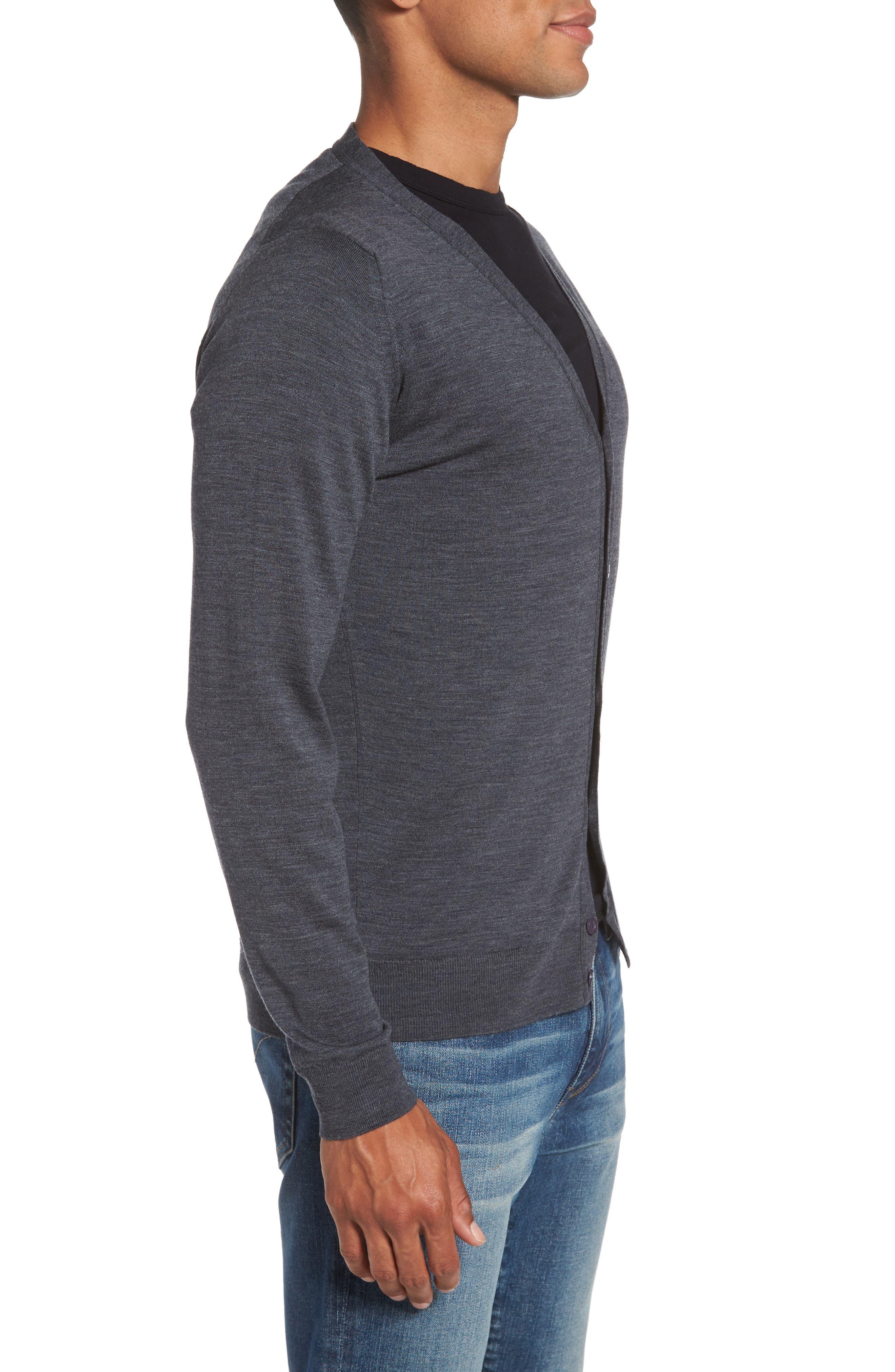 Alternate Image 3  - John Smedley Standard Fit Wool Cardigan