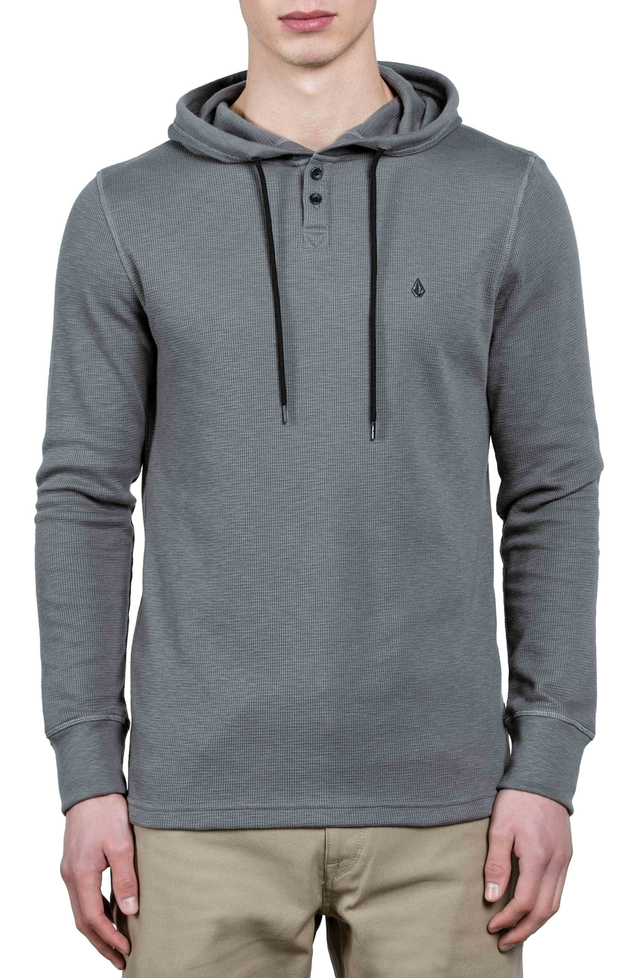 Murphy Thermal Hoodie,                         Main,                         color, Grey