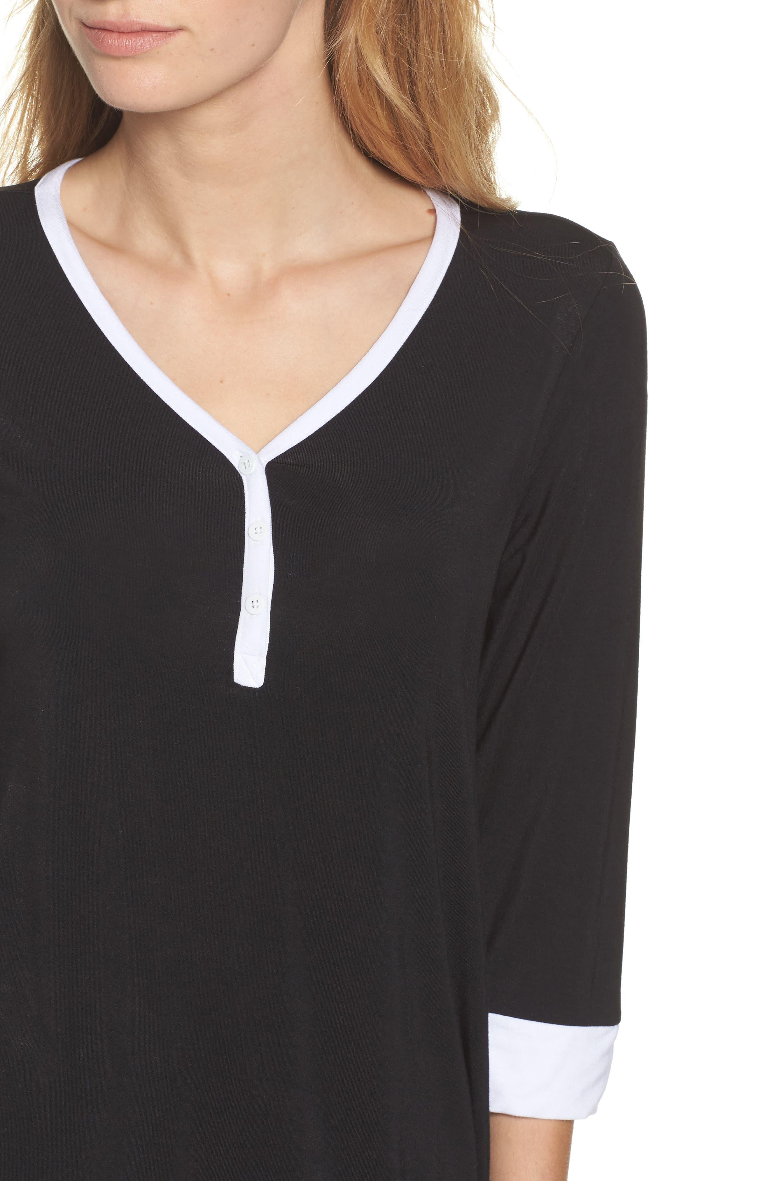 Alternate Image 5  - DKNY Pajama Top