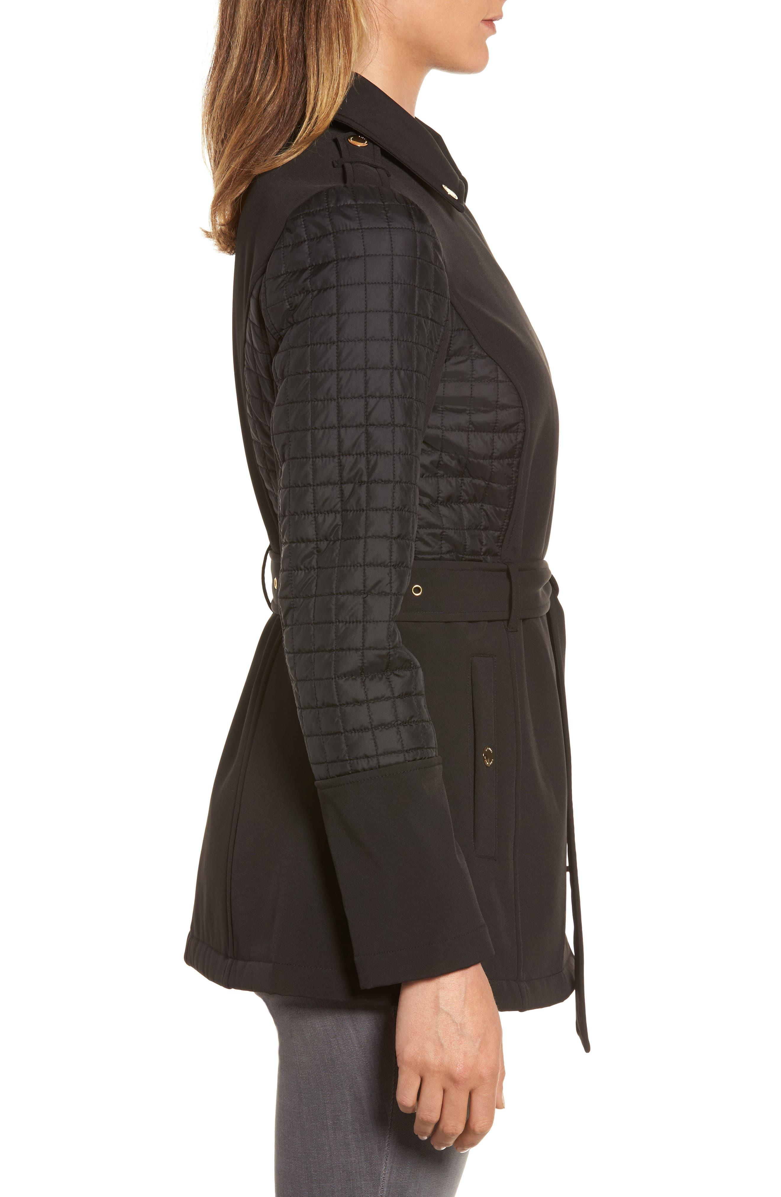 Alternate Image 3  - MICHAEL Michael Kors Asymmetrical Zip Coat