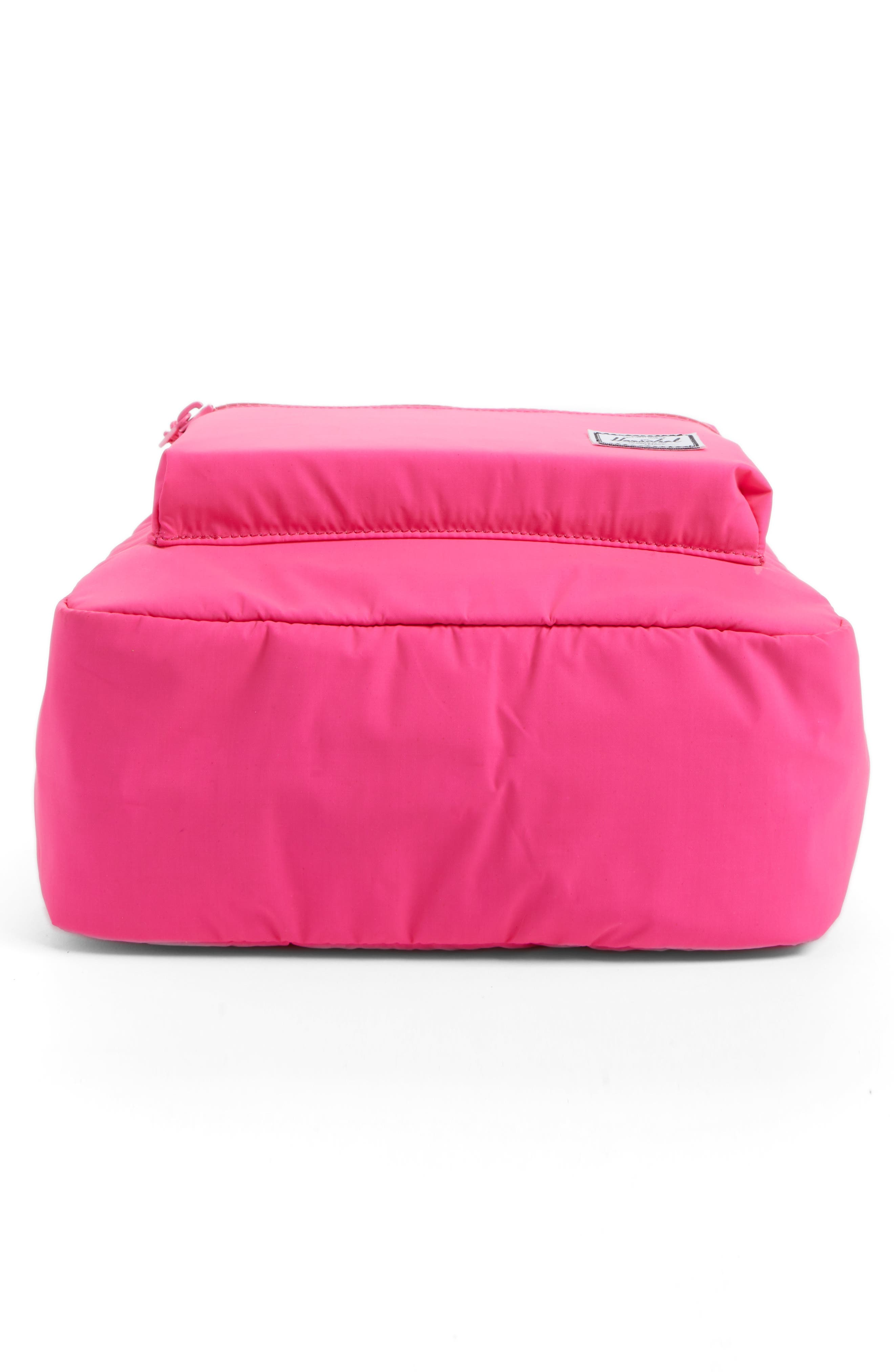Heritage Backpack,                             Alternate thumbnail 6, color,                             Neon Pink Rubber