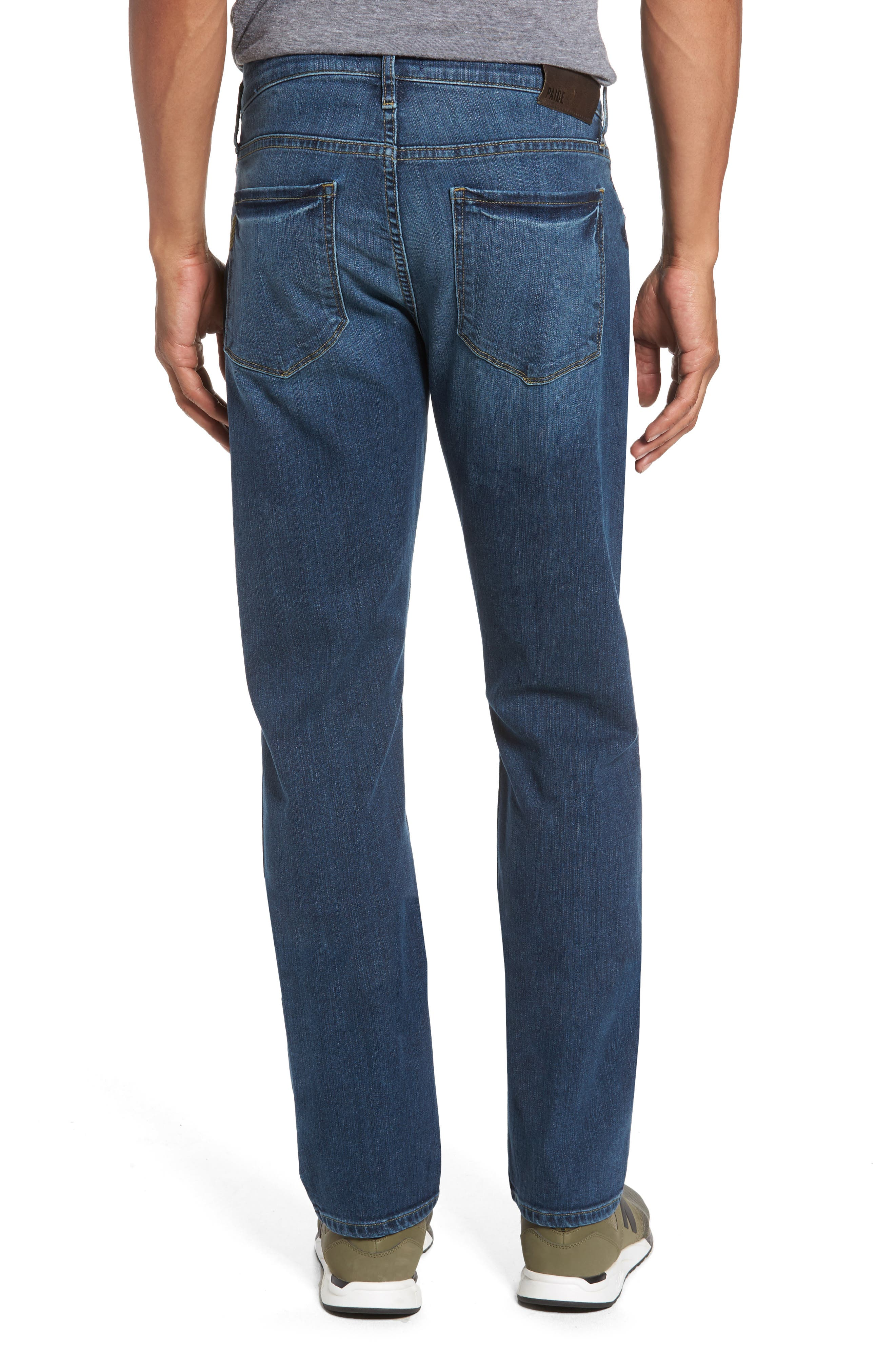 Alternate Image 2  - PAIGE Legacy - Federal Slim Straight Fit Jeans (Indie)