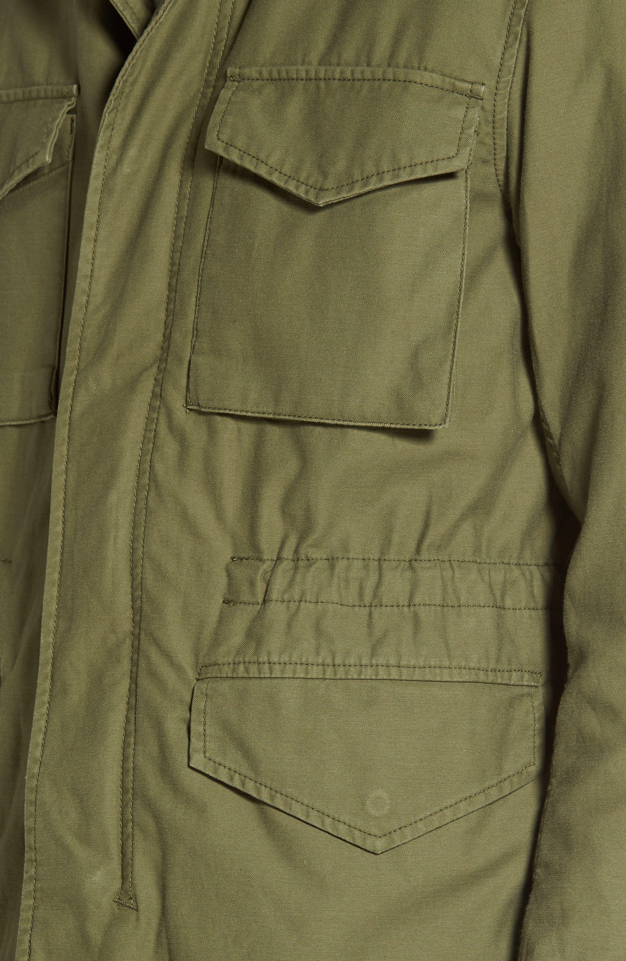 Jameson Field Jacket,                             Alternate thumbnail 4, color,                             Climbing Ivy