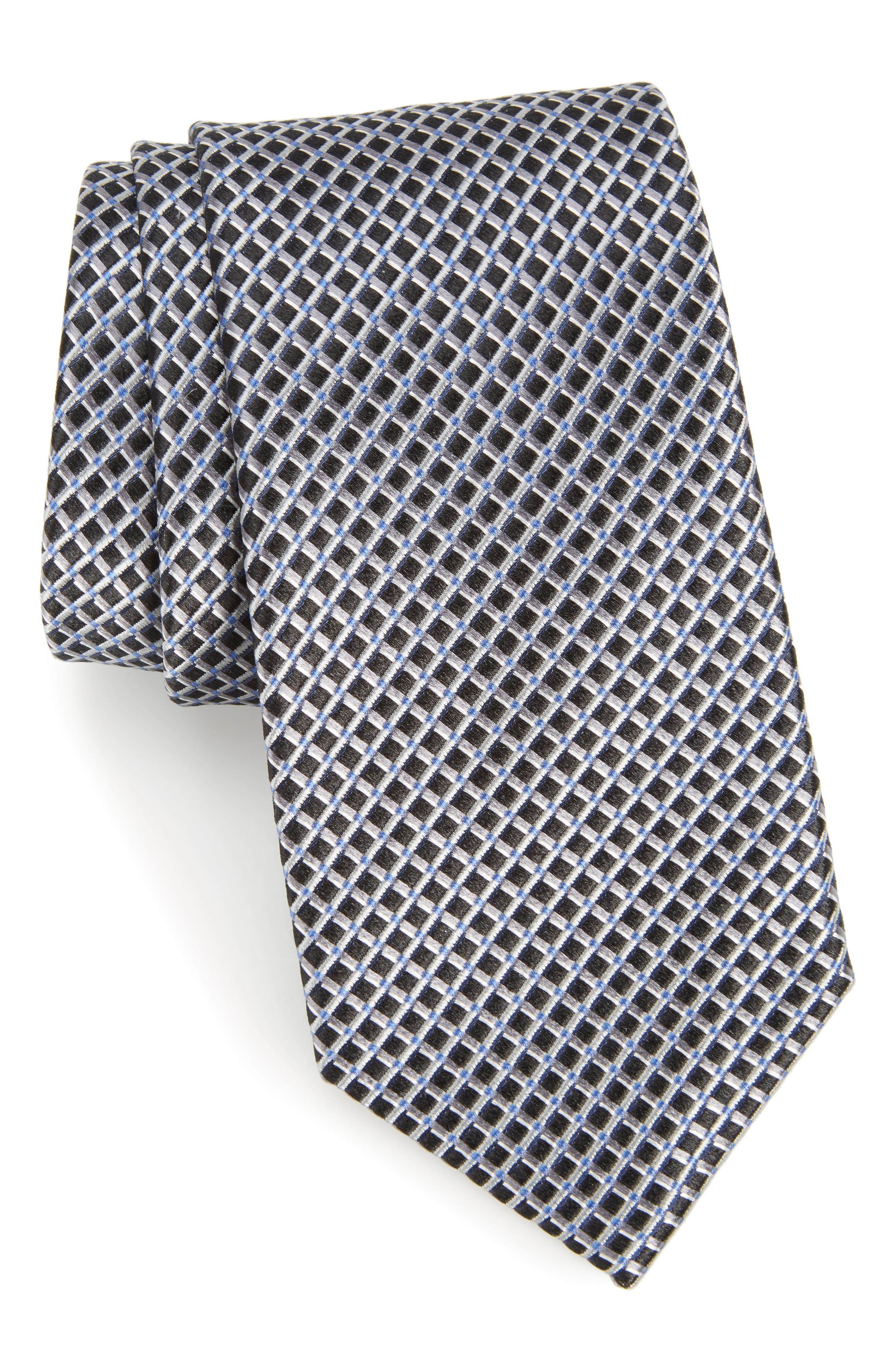 Main Image - Calibrate Lisgar Grid Silk Tie