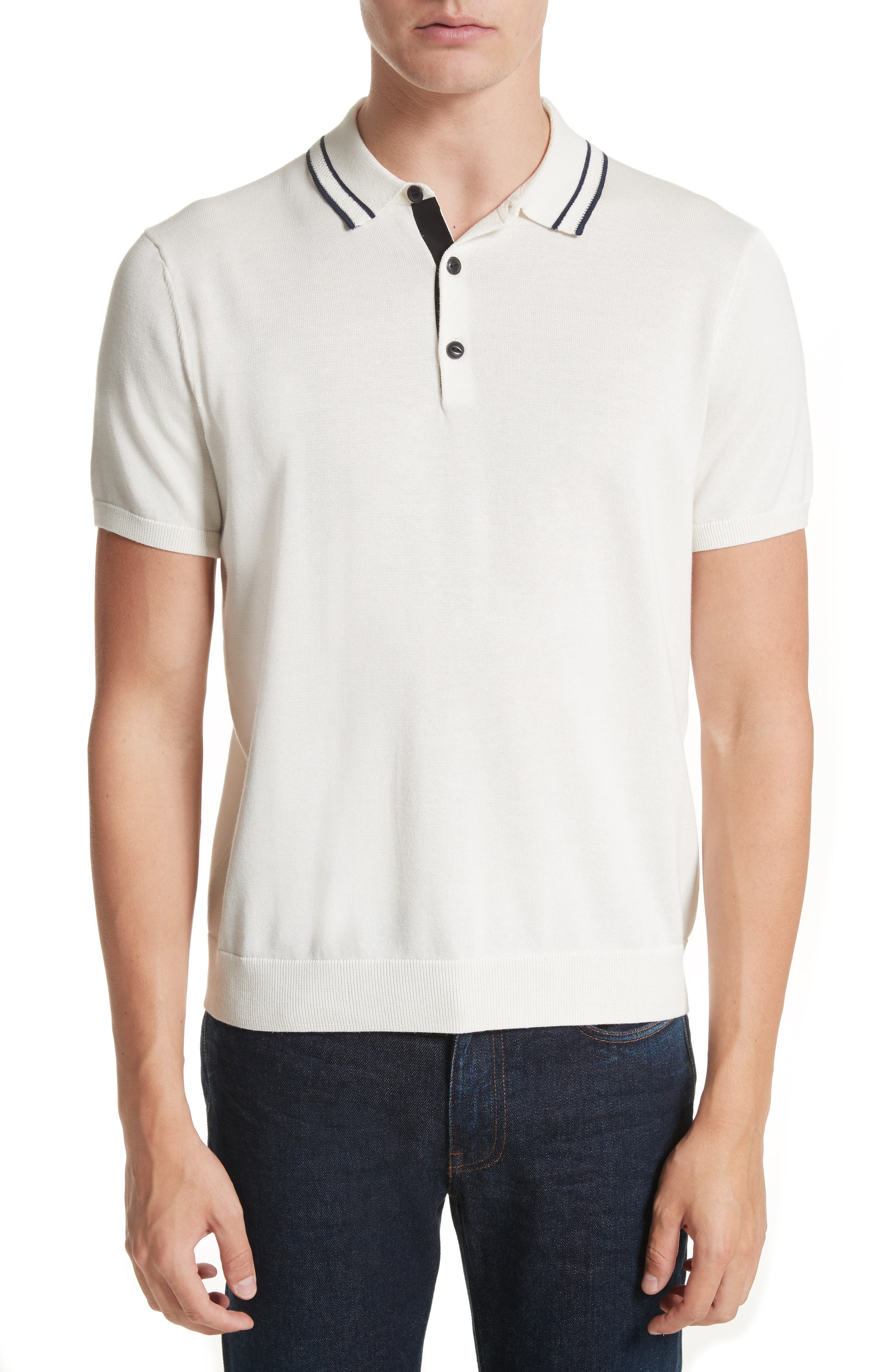 rag & bone Jason Knit Polo