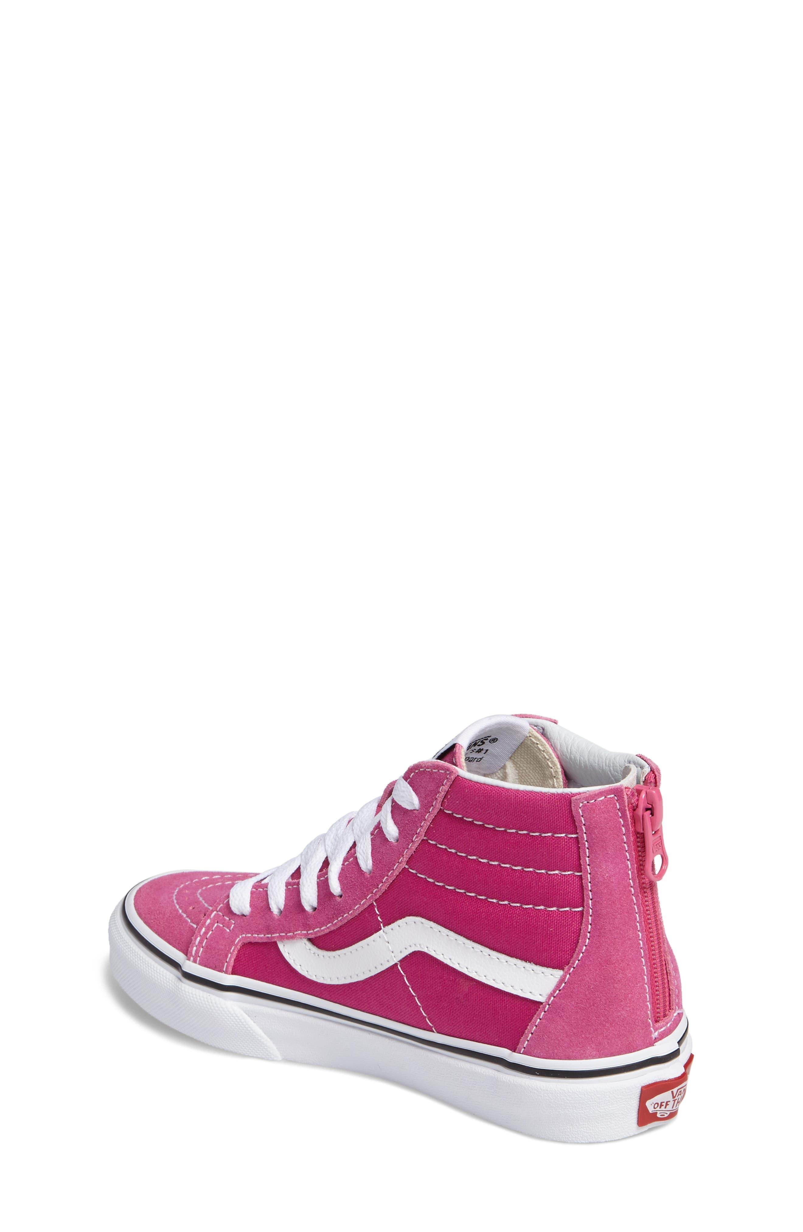 Alternate Image 7  - Vans Sk8-Hi Zip Sneaker (Baby, Walker, Toddler, Little Kid & Big Kid)